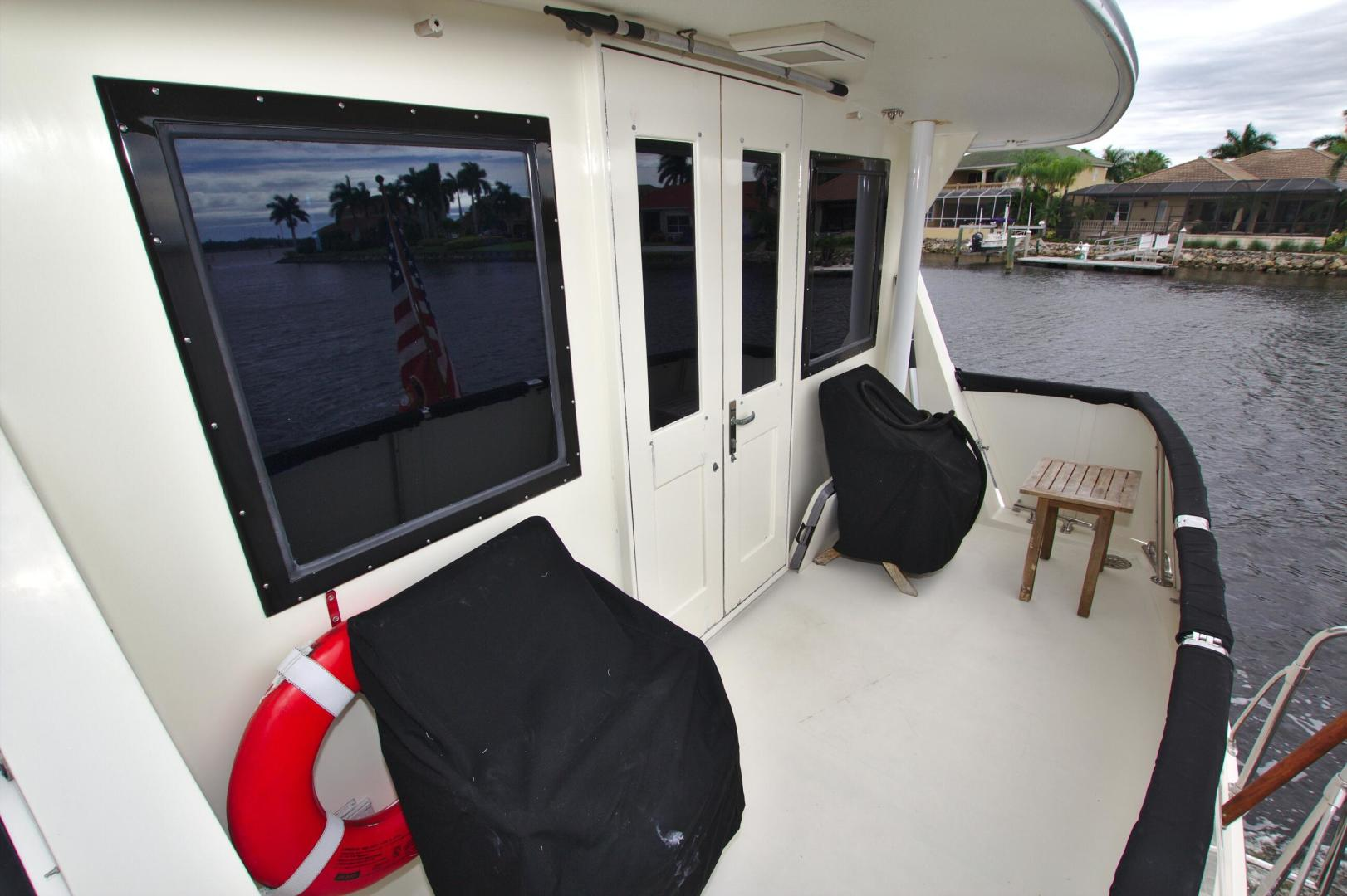 Hatteras-53 Extended Deckhouse Motor Yacht 1983-Luv Options Palmetto-Florida-United States-1512996 | Thumbnail