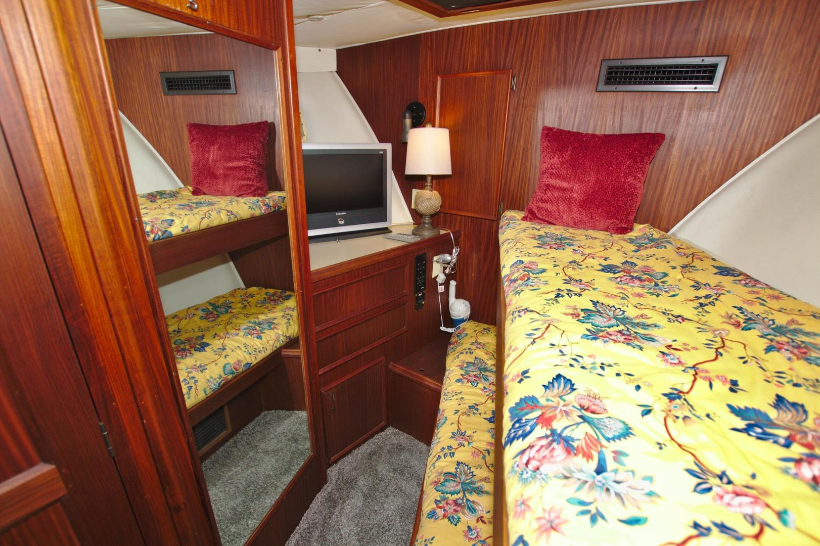 Hatteras-53 Extended Deckhouse Motor Yacht 1983-Luv Options Palmetto-Florida-United States-1513012 | Thumbnail