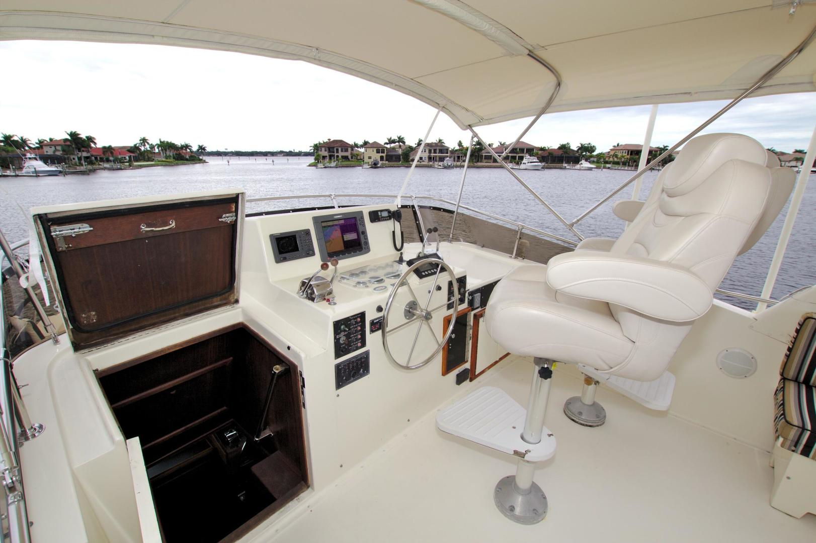 Hatteras-53 Extended Deckhouse Motor Yacht 1983-Luv Options Palmetto-Florida-United States-1512986 | Thumbnail