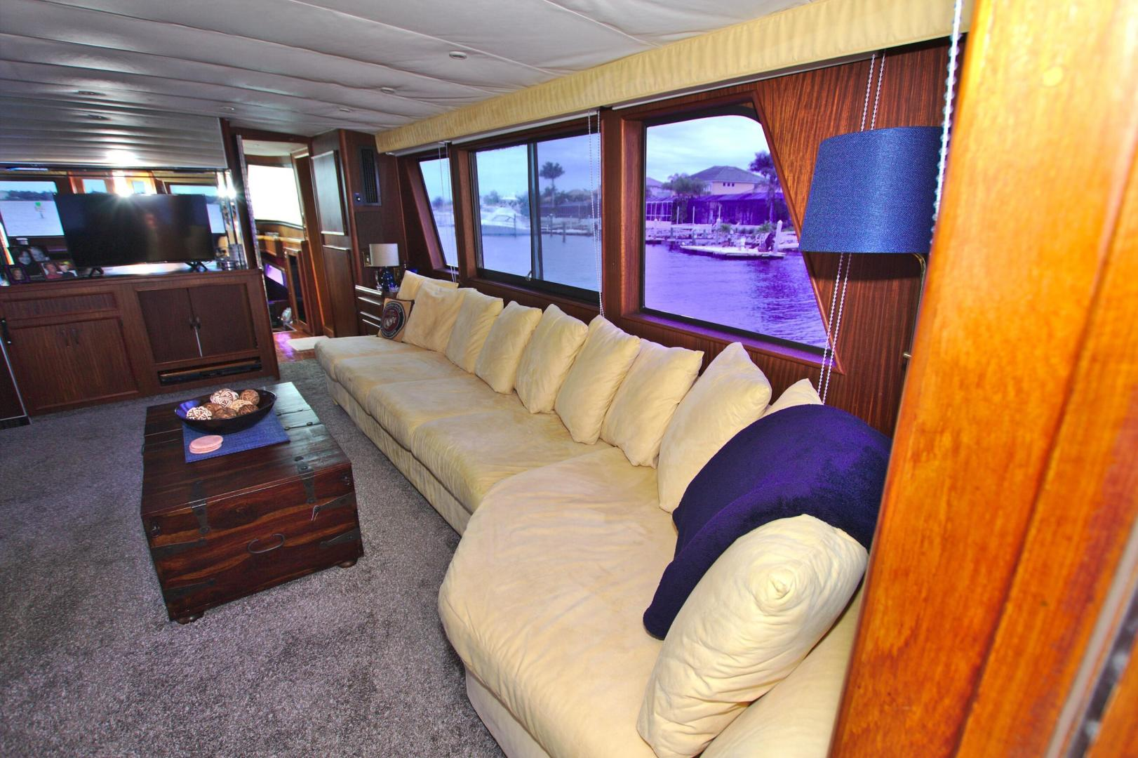 Hatteras-53 Extended Deckhouse Motor Yacht 1983-Luv Options Palmetto-Florida-United States-1513000 | Thumbnail