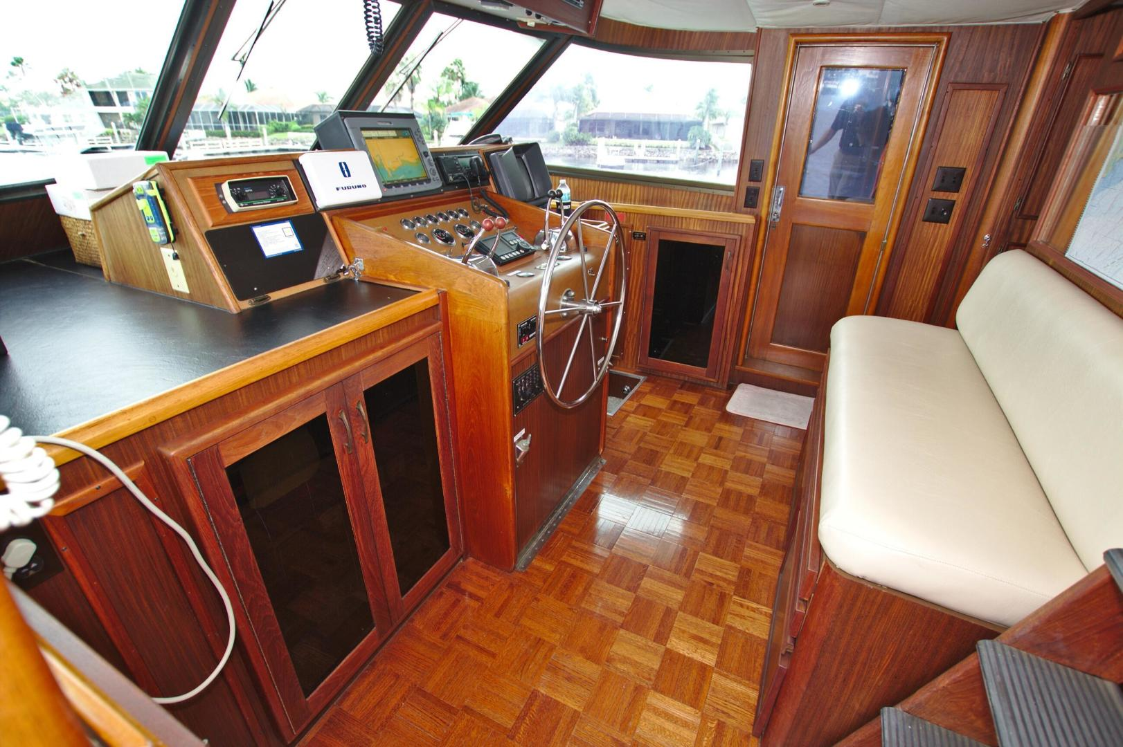 Hatteras-53 Extended Deckhouse Motor Yacht 1983-Luv Options Palmetto-Florida-United States-1512989 | Thumbnail