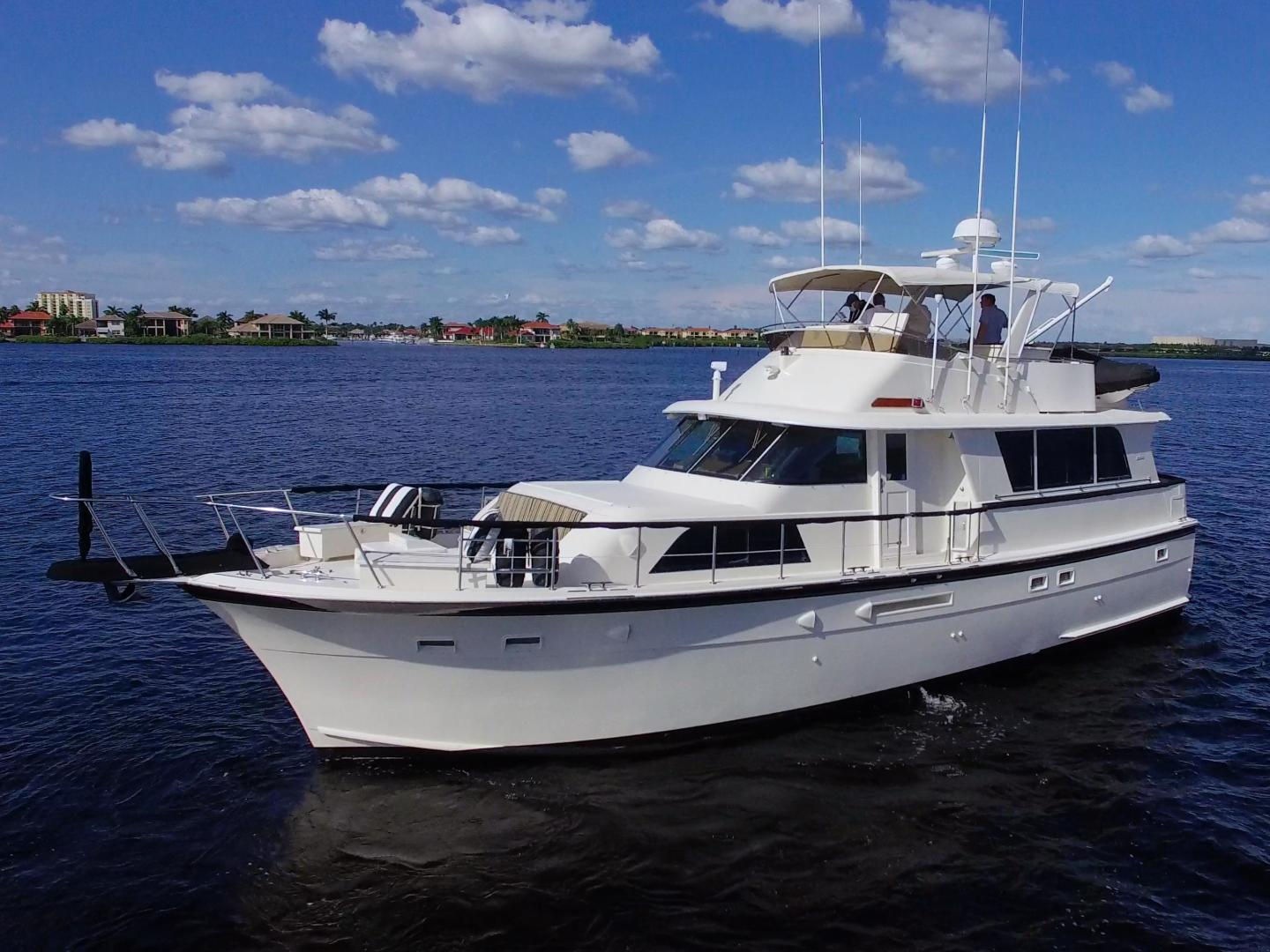 Hatteras-53 Extended Deckhouse Motor Yacht 1983-Luv Options Palmetto-Florida-United States-1512972 | Thumbnail