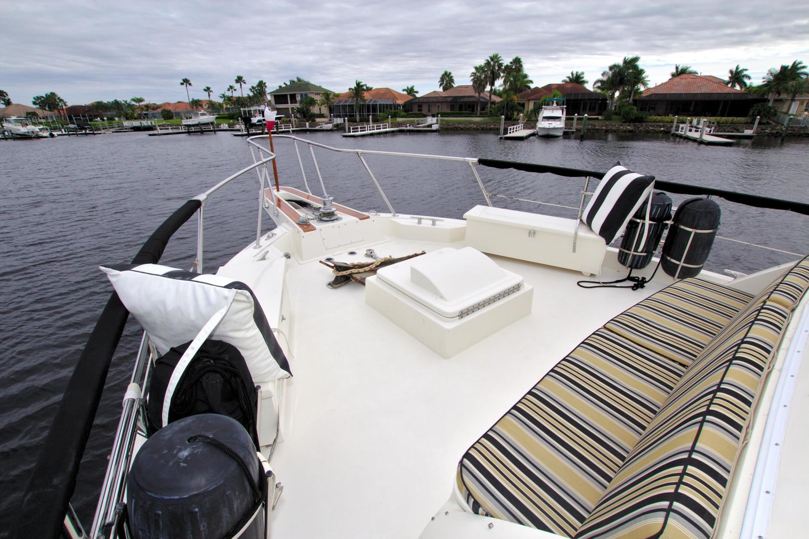 Hatteras-53 Extended Deckhouse Motor Yacht 1983-Luv Options Palmetto-Florida-United States-1512975 | Thumbnail