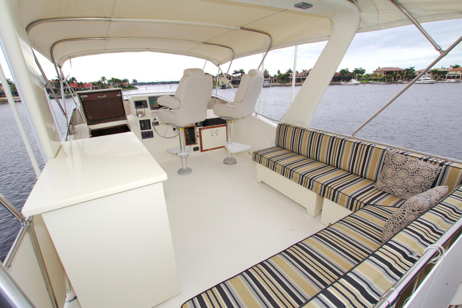 Hatteras-53 Extended Deckhouse Motor Yacht 1983-Luv Options Palmetto-Florida-United States-1512984 | Thumbnail