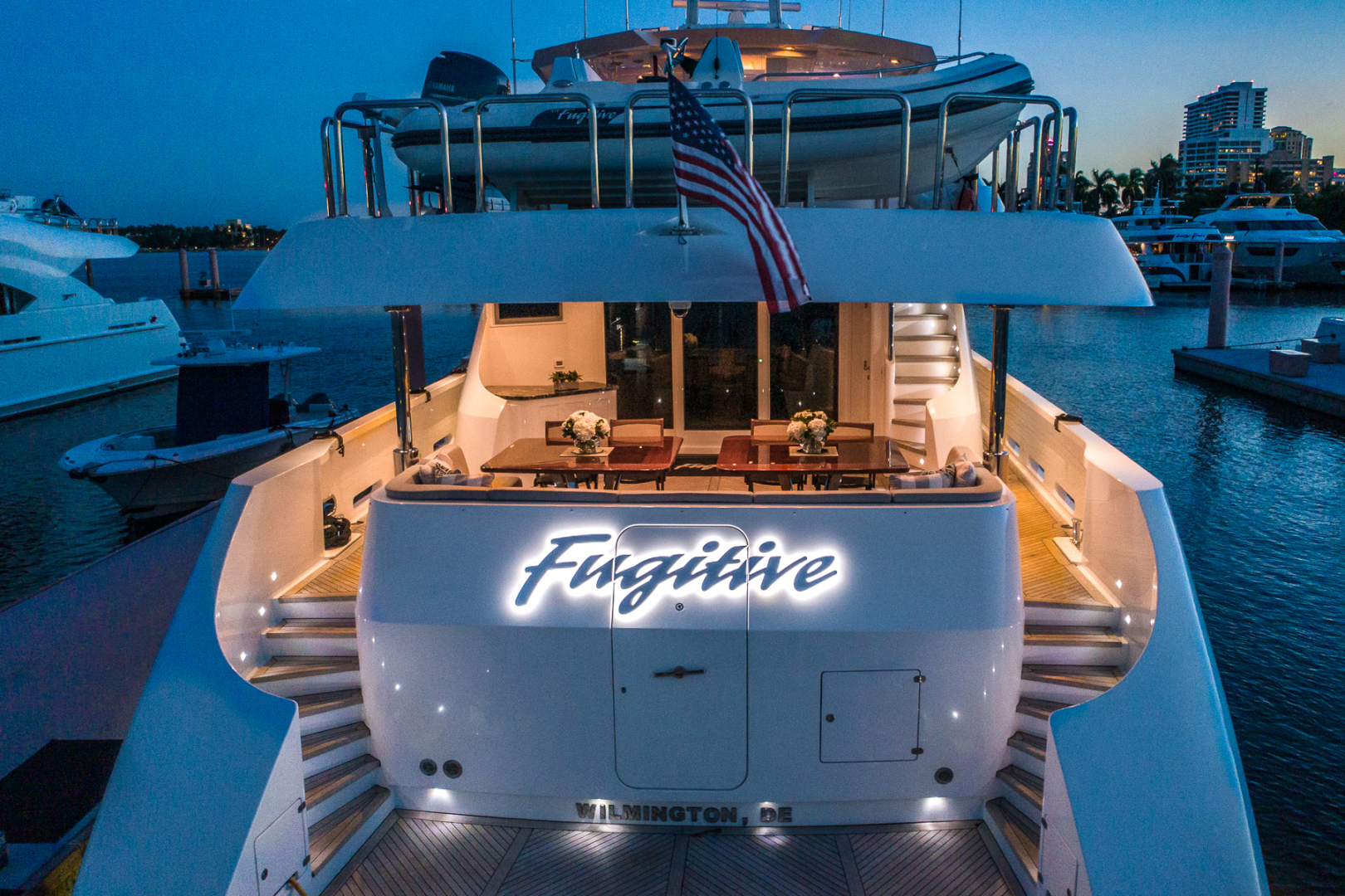 Northcoast-NC125 2011-FUGITIVE *Name Reserved* West Palm Beach-Florida-United States-Stern at Night-1513513 | Thumbnail