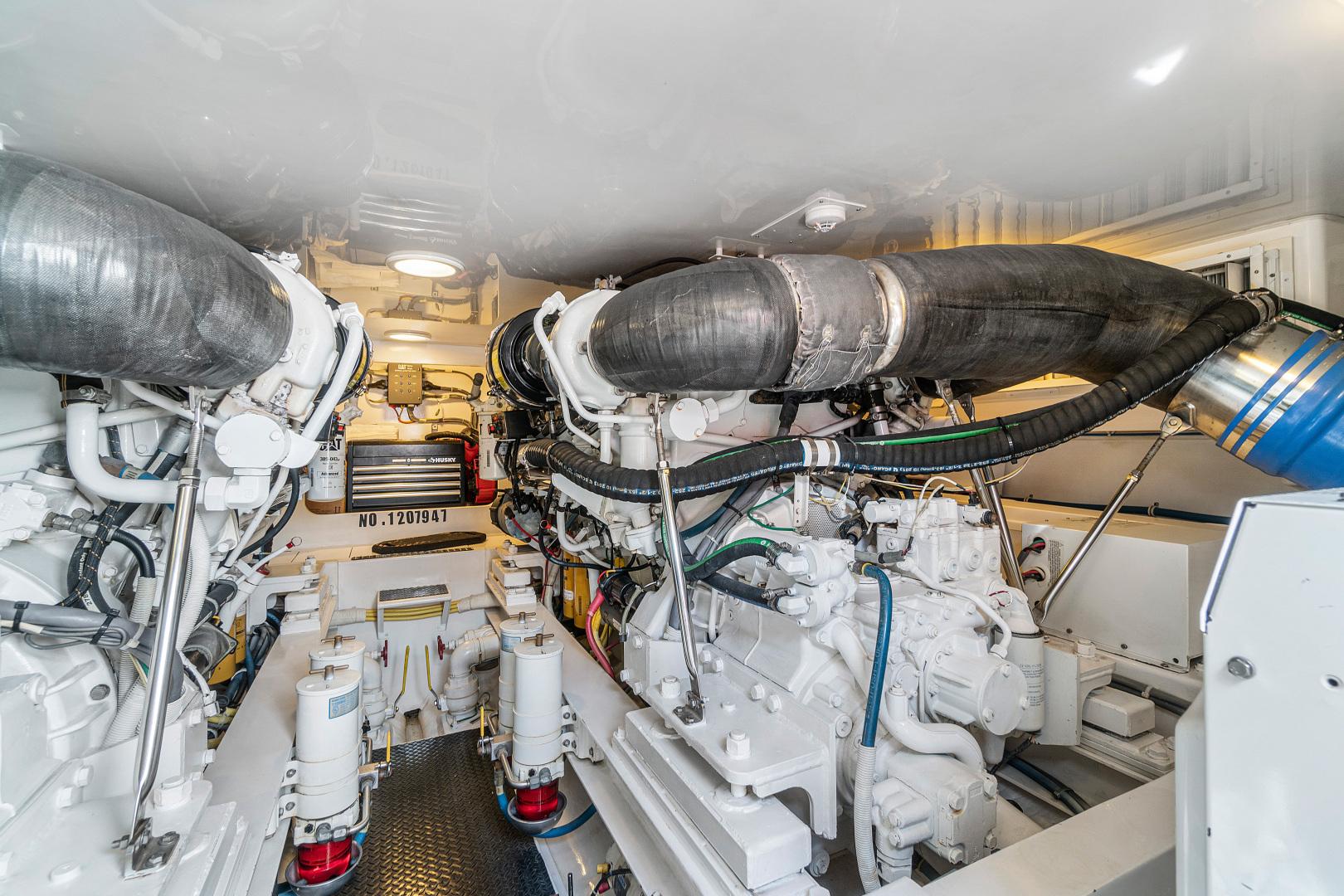 Viking-Convertible 2008-Saving Grace Stuart-Florida-United States-Engine Room-1546262   Thumbnail