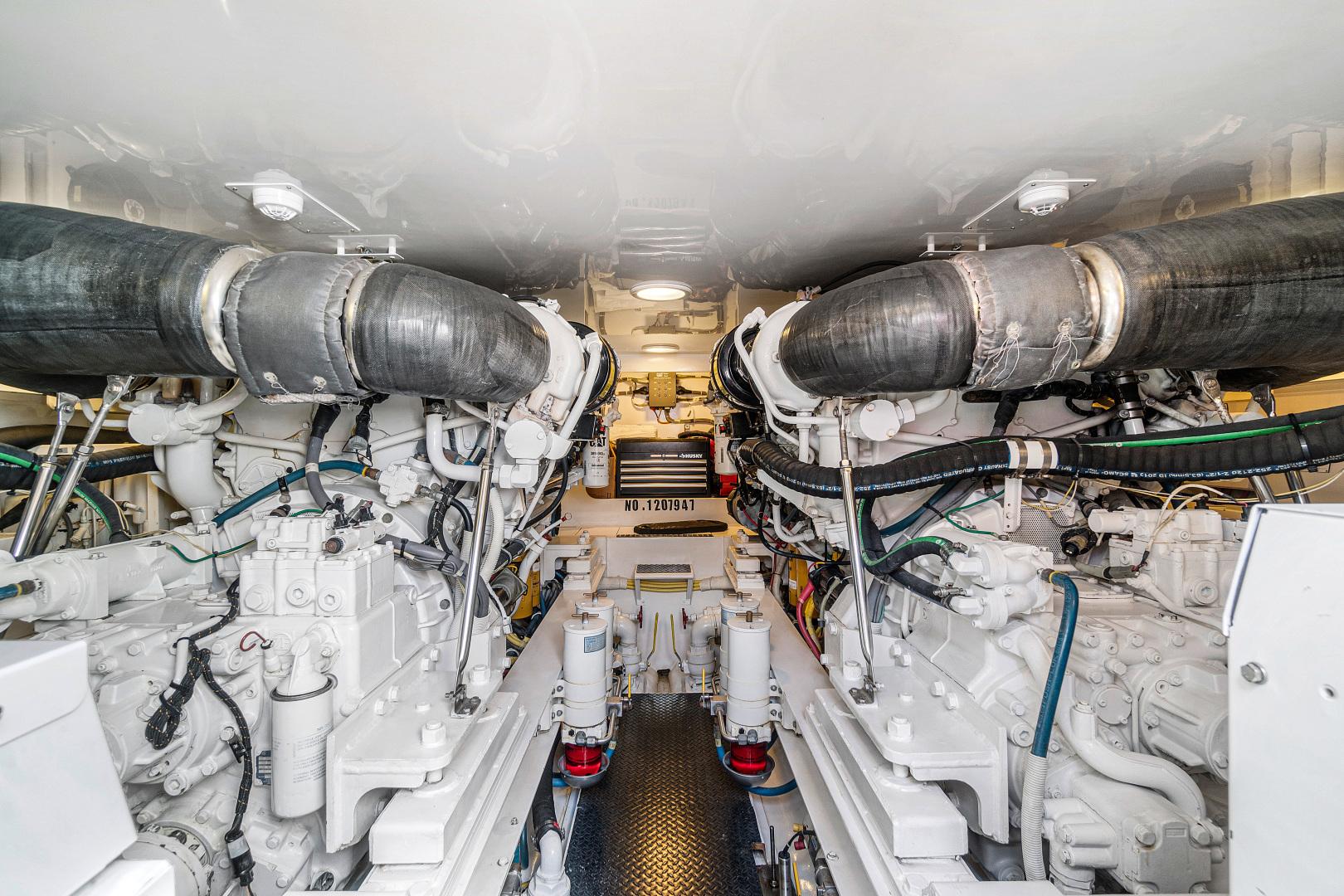 Viking-Convertible 2008-Saving Grace Stuart-Florida-United States-Engine Room-1546261   Thumbnail