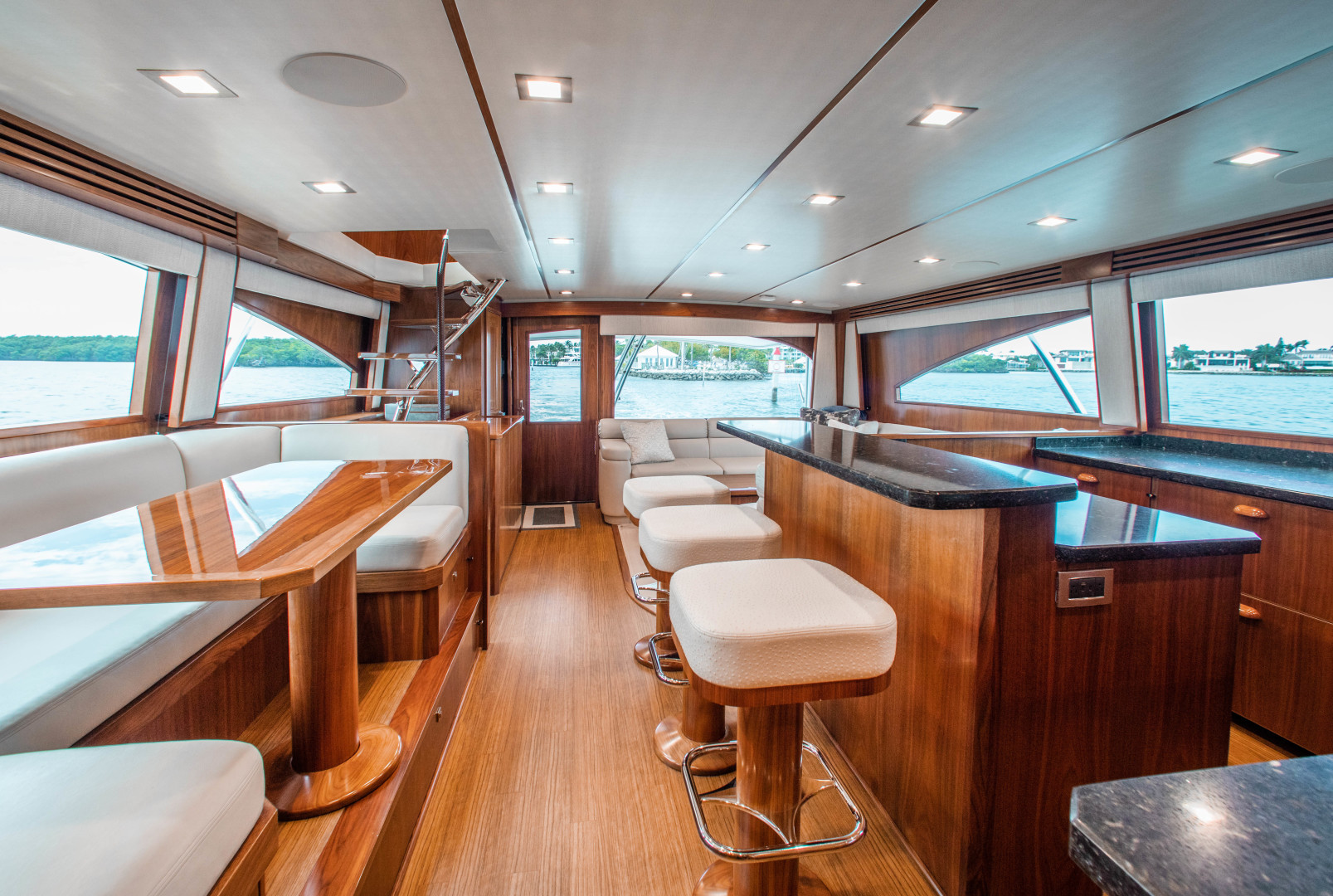 Viking-72 Enclosed Bridge 2018-Red Lion Ocean Reef-Florida-United States-2018 Viking 72 Enclosed Bridge  Red Lion  Galley / Dinette-1568236   Thumbnail
