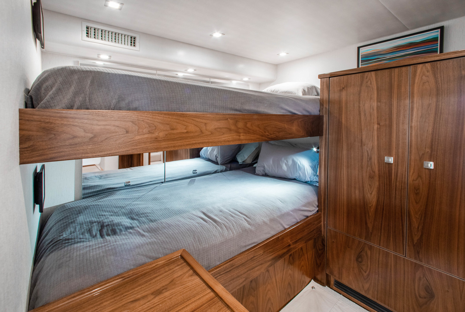Viking-72 Enclosed Bridge 2018-Red Lion Ocean Reef-Florida-United States-2018 Viking 72 Enclosed Bridge  Red Lion  Guest Stateroom-1568223   Thumbnail