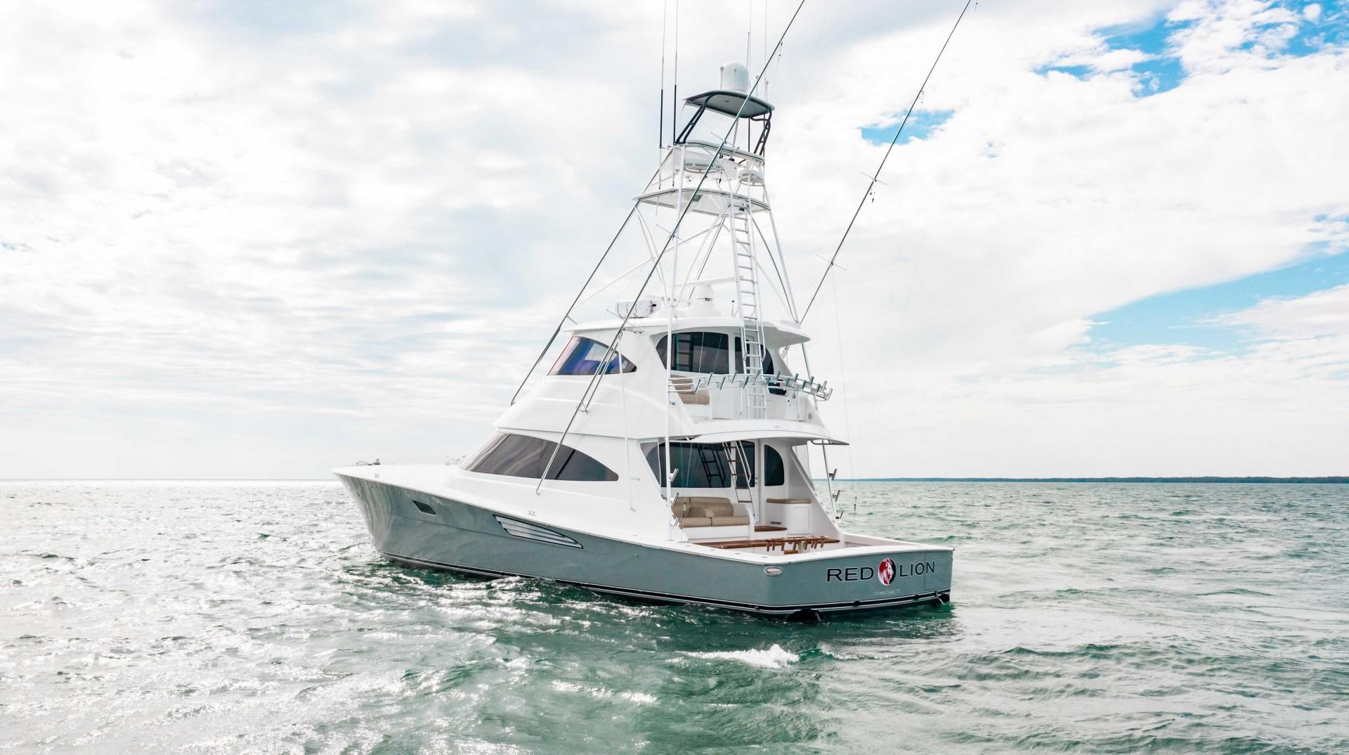 Viking-72 Enclosed Bridge 2018-Red Lion Ocean Reef-Florida-United States-2018 Viking 72 Enclosed Bridge  Red Lion -1568328   Thumbnail