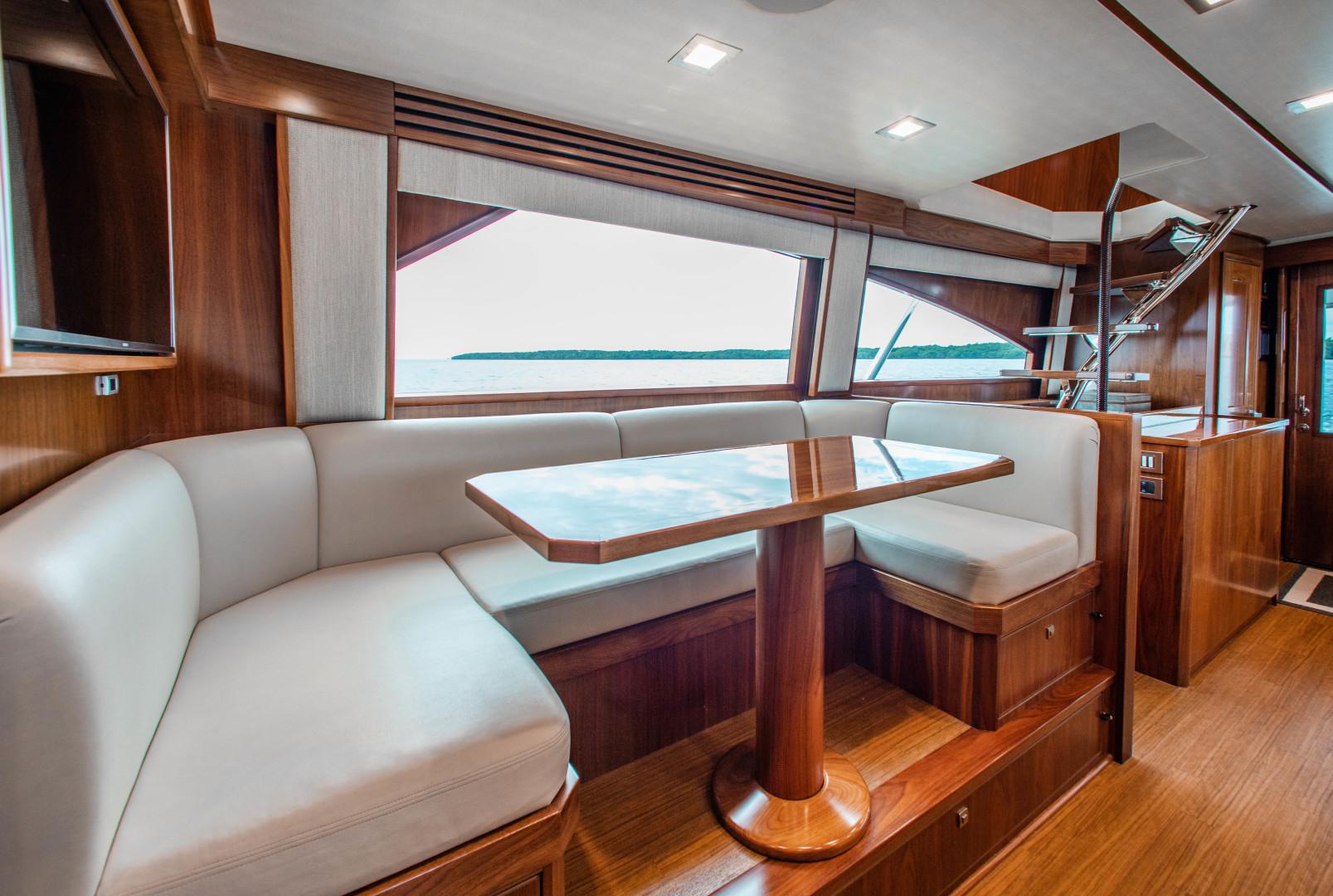 Viking-72 Enclosed Bridge 2018-Red Lion Ocean Reef-Florida-United States-2018 Viking 72 Enclosed Bridge  Red Lion  Dinette-1568237   Thumbnail