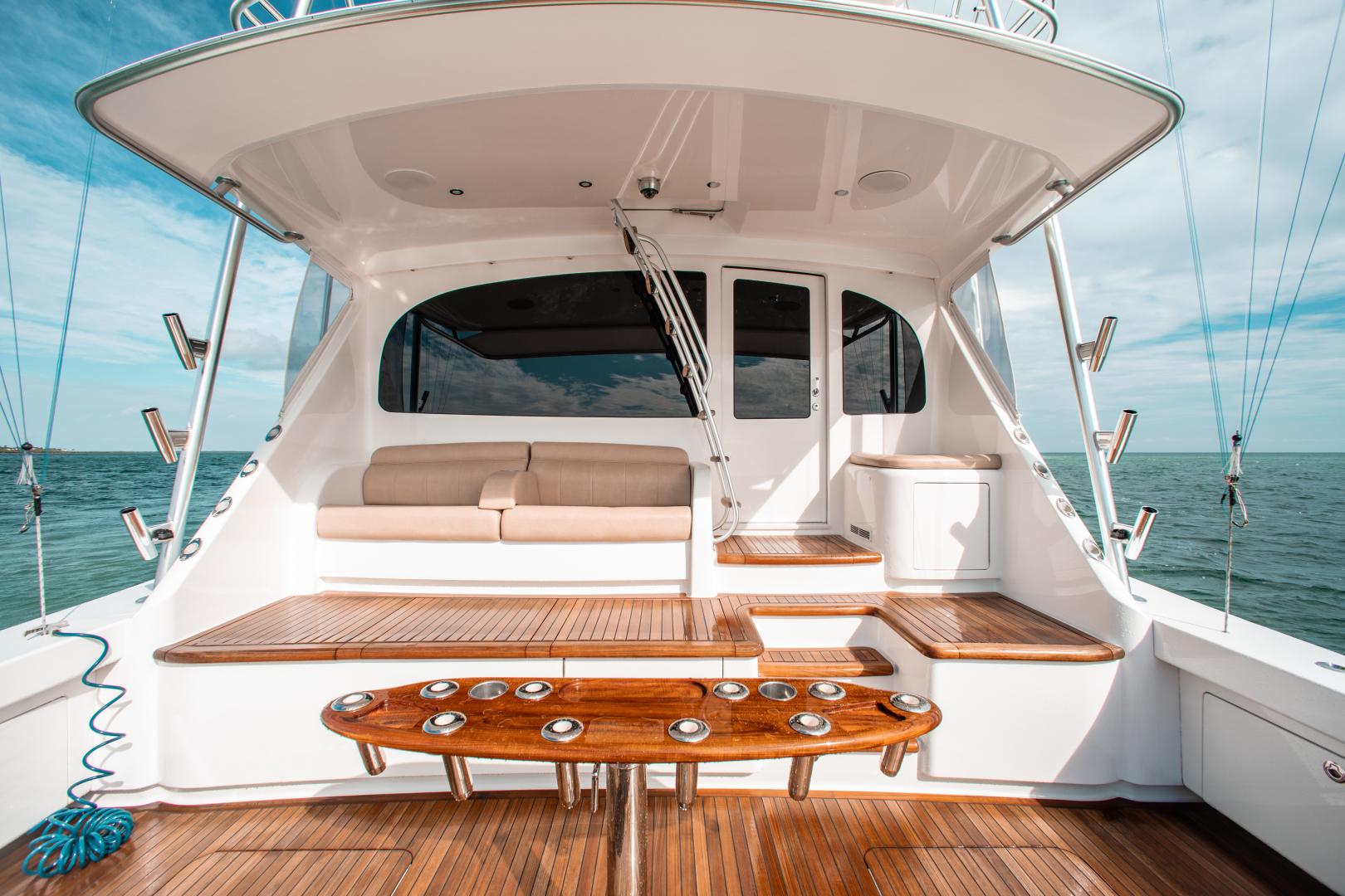 Viking-72 Enclosed Bridge 2018-Red Lion Ocean Reef-Florida-United States-2018 Viking 72 Enclosed Bridge  Red Lion  Cockpit-1568243   Thumbnail