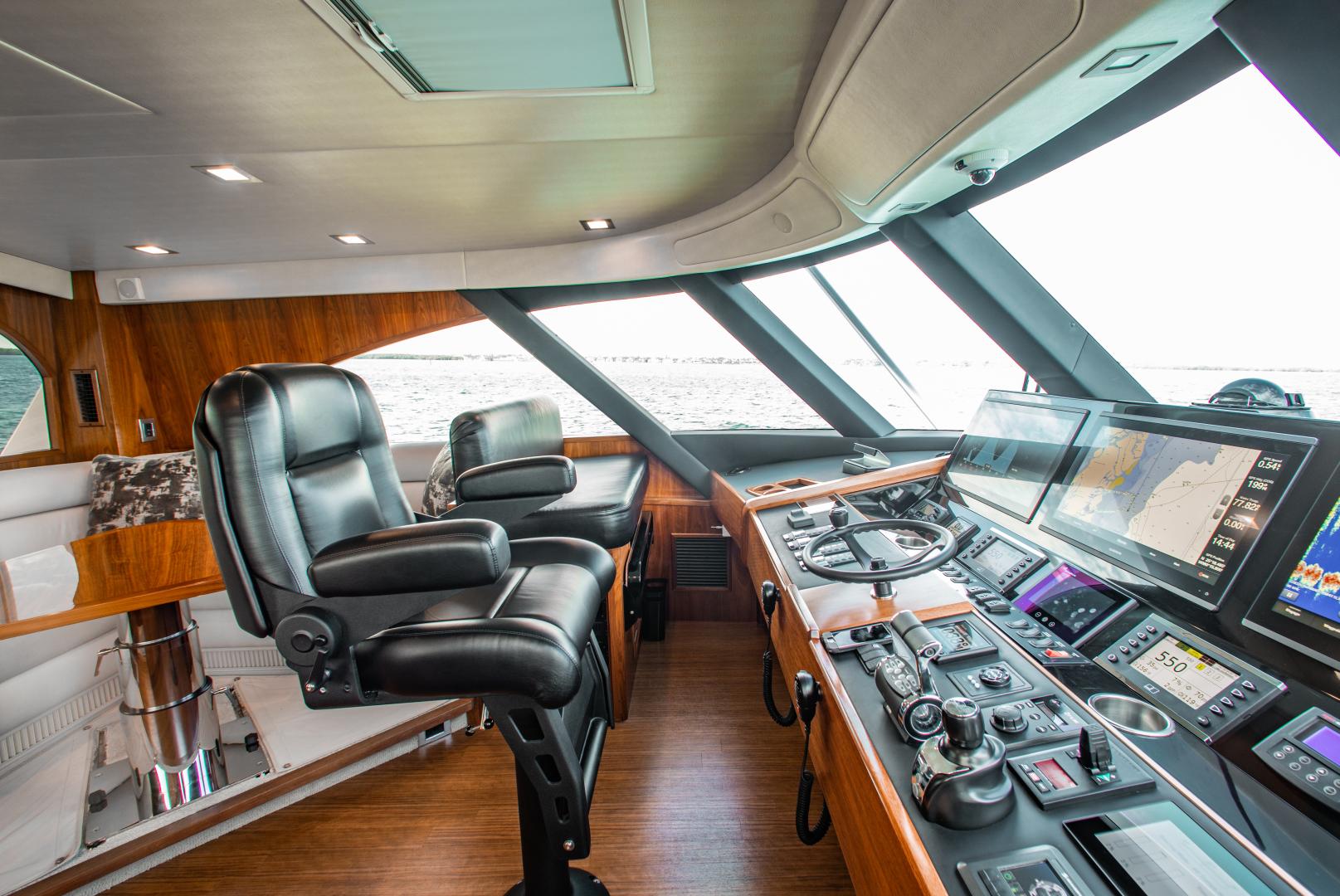 Viking-72 Enclosed Bridge 2018-Red Lion Ocean Reef-Florida-United States-2018 Viking 72 Enclosed Bridge  Red Lion  Enclosed Bridge-1568249   Thumbnail
