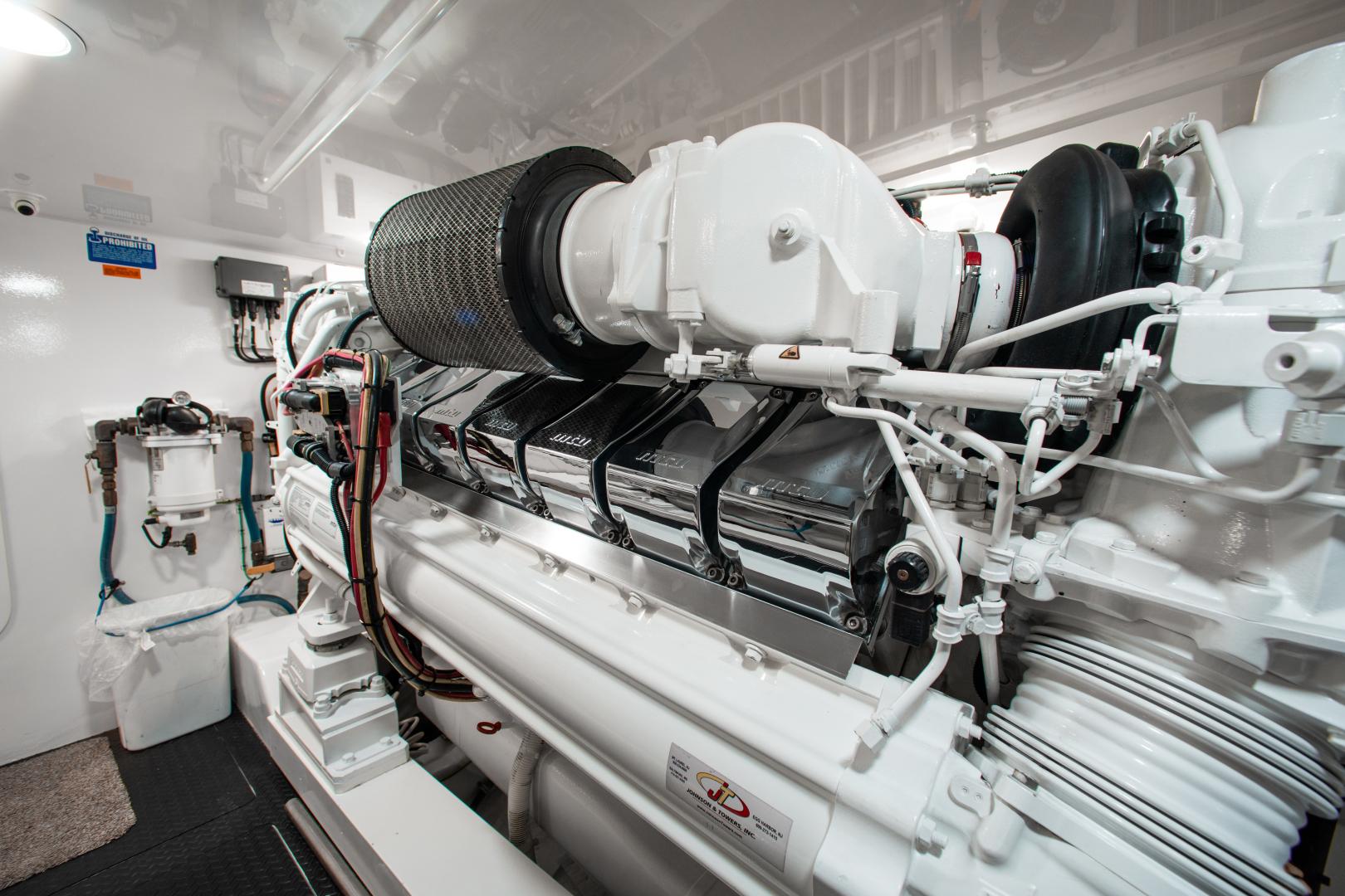 Viking-72 Enclosed Bridge 2018-Red Lion Ocean Reef-Florida-United States-2018 Viking 72 Enclosed Bridge  Red Lion  Engine Room-1568266   Thumbnail