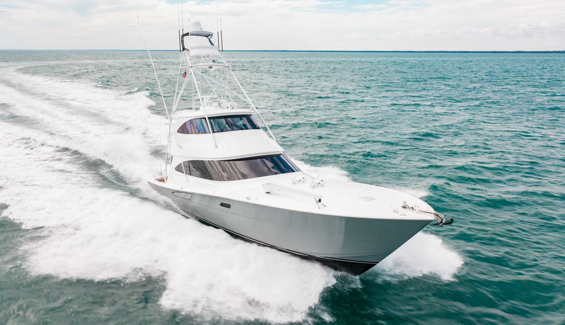 Viking-72 Enclosed Bridge 2018-Red Lion Ocean Reef-Florida-United States-2018 Viking 72 Enclosed Bridge  Red Lion -1568289   Thumbnail