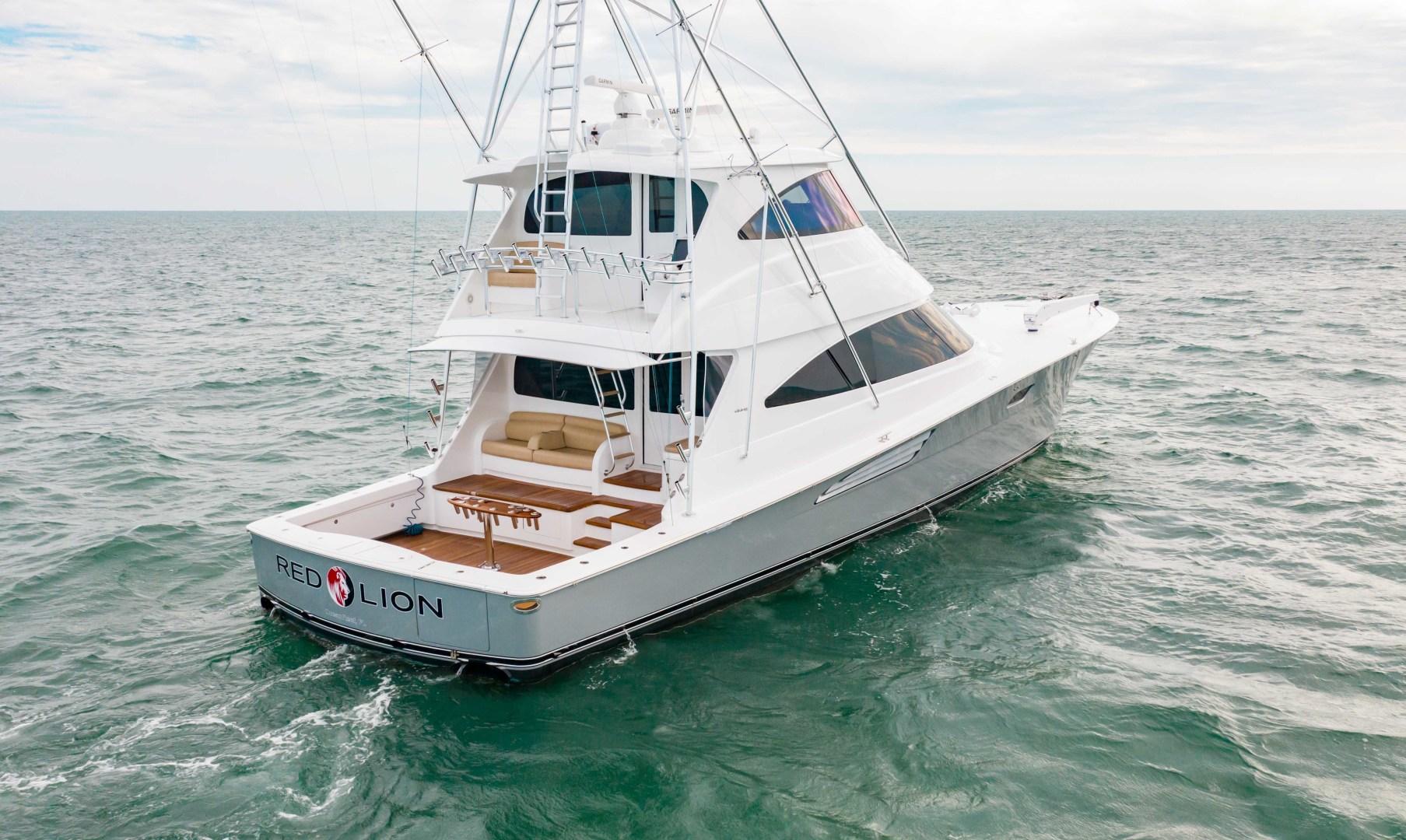 Viking-72 Enclosed Bridge 2018-Red Lion Ocean Reef-Florida-United States-2018 Viking 72 Enclosed Bridge  Red Lion -1568313   Thumbnail