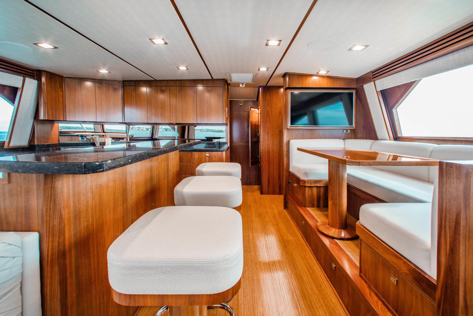 Viking-72 Enclosed Bridge 2018-Red Lion Ocean Reef-Florida-United States-2018 Viking 72 Enclosed Bridge  Red Lion  Galley / Dinette-1568241   Thumbnail
