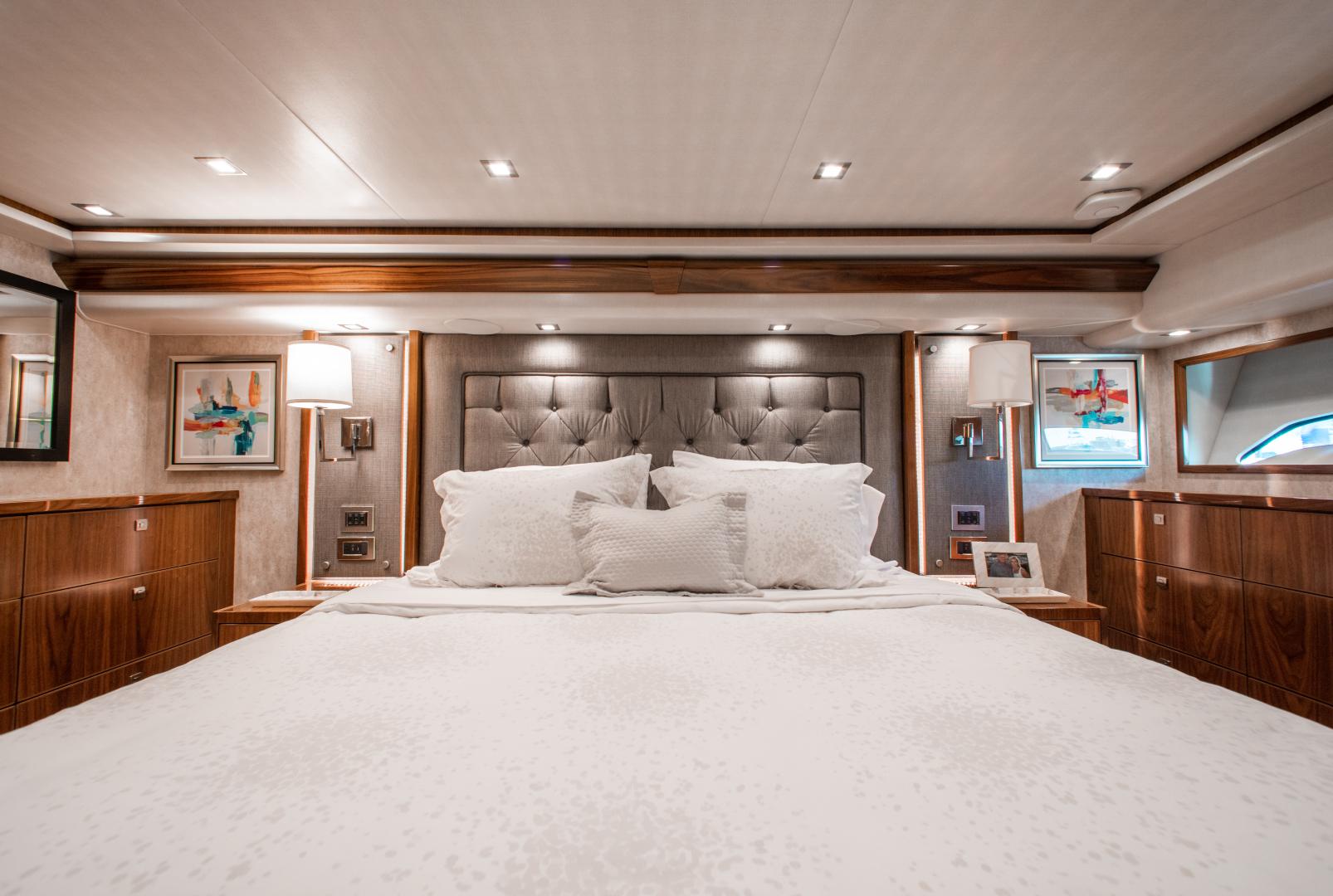 Viking-72 Enclosed Bridge 2018-Red Lion Ocean Reef-Florida-United States-2018 Viking 72 Enclosed Bridge  Red Lion  Master Stateroom-1568285   Thumbnail