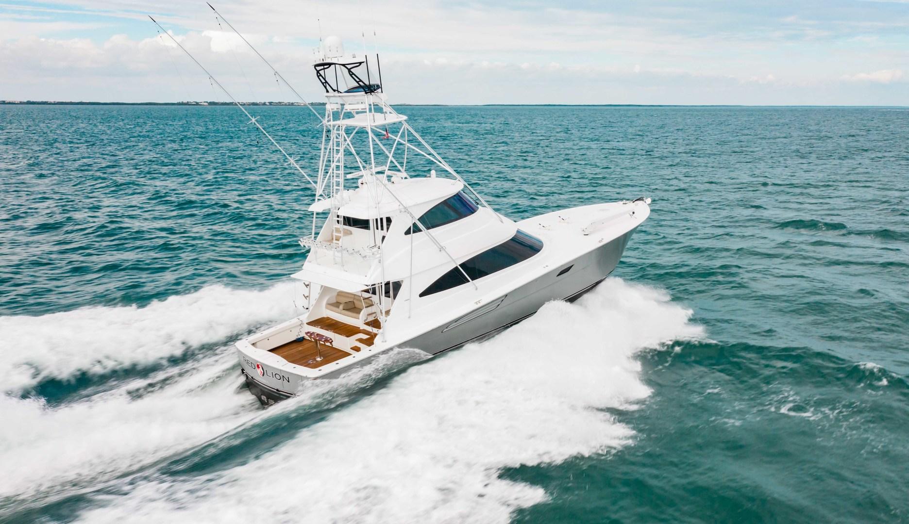 Viking-72 Enclosed Bridge 2018-Red Lion Ocean Reef-Florida-United States-2018 Viking 72 Enclosed Bridge  Red Lion -1568299   Thumbnail