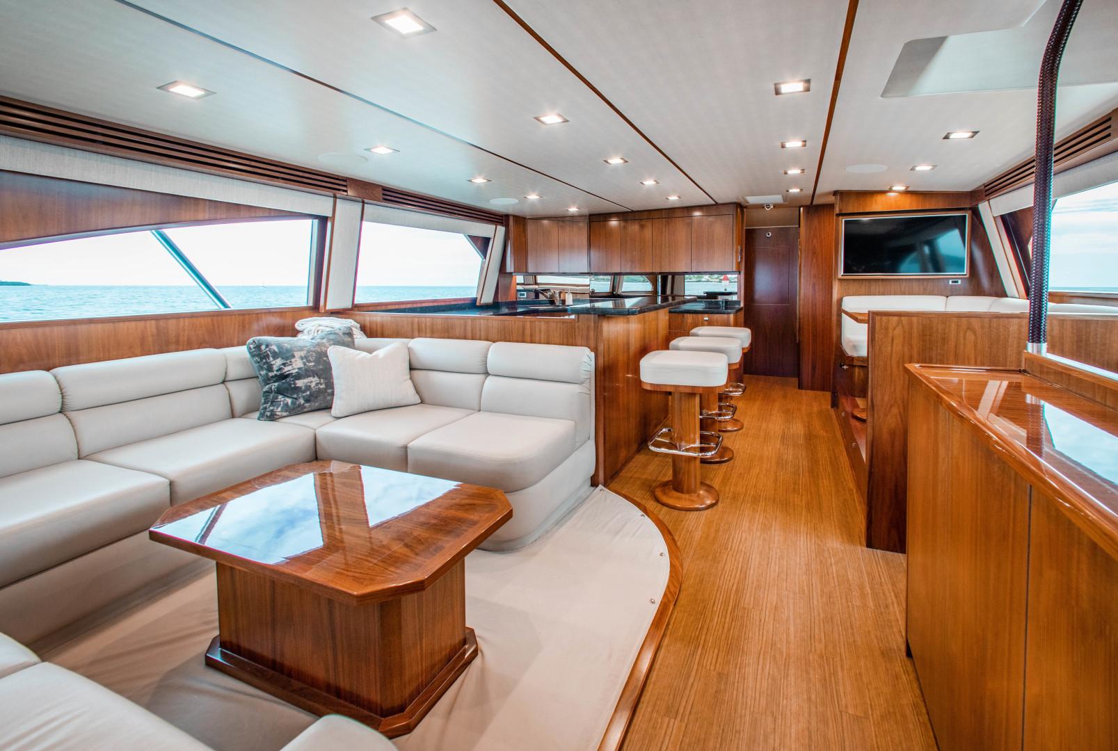 Viking-72 Enclosed Bridge 2018-Red Lion Ocean Reef-Florida-United States-2018 Viking 72 Enclosed Bridge  Red Lion  Salon-1568238   Thumbnail