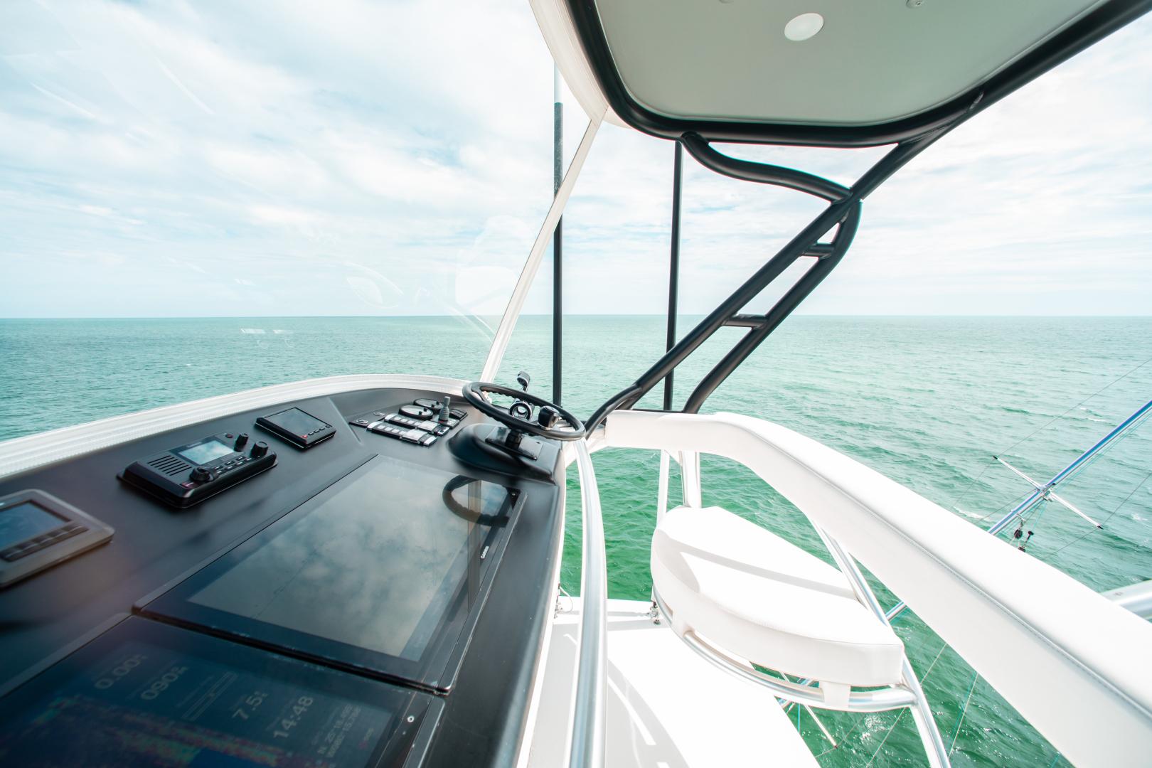 Viking-72 Enclosed Bridge 2018-Red Lion Ocean Reef-Florida-United States-2018 Viking 72 Enclosed Bridge  Red Lion  Tower-1568255   Thumbnail