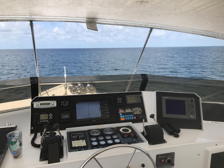 Broward-Custom Extended 1990-MON SHERI Fort Lauderdale-Florida-United States-Flybridge Helm-1515108   Thumbnail