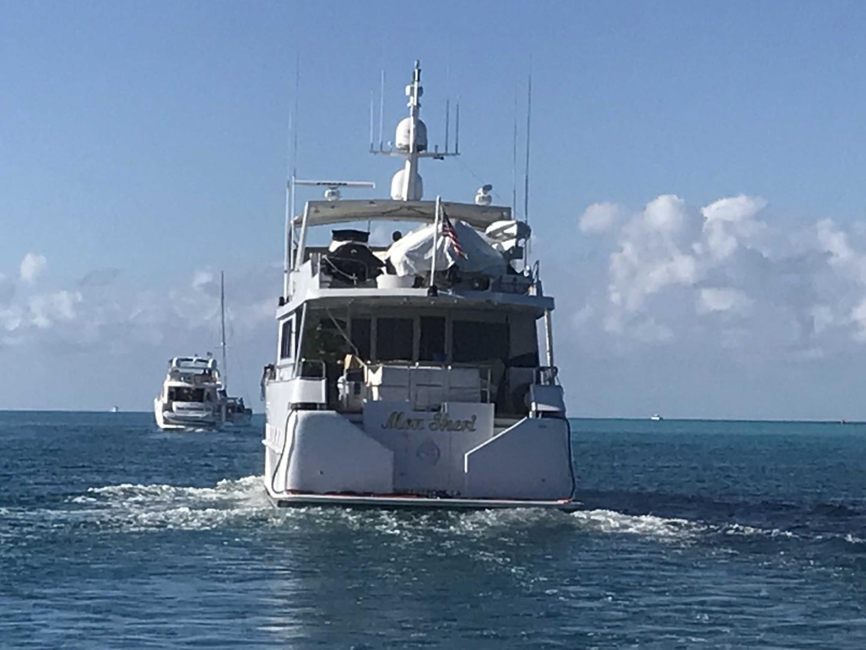 Broward-Custom Extended 1990-MON SHERI Fort Lauderdale-Florida-United States-Transom-1515132   Thumbnail