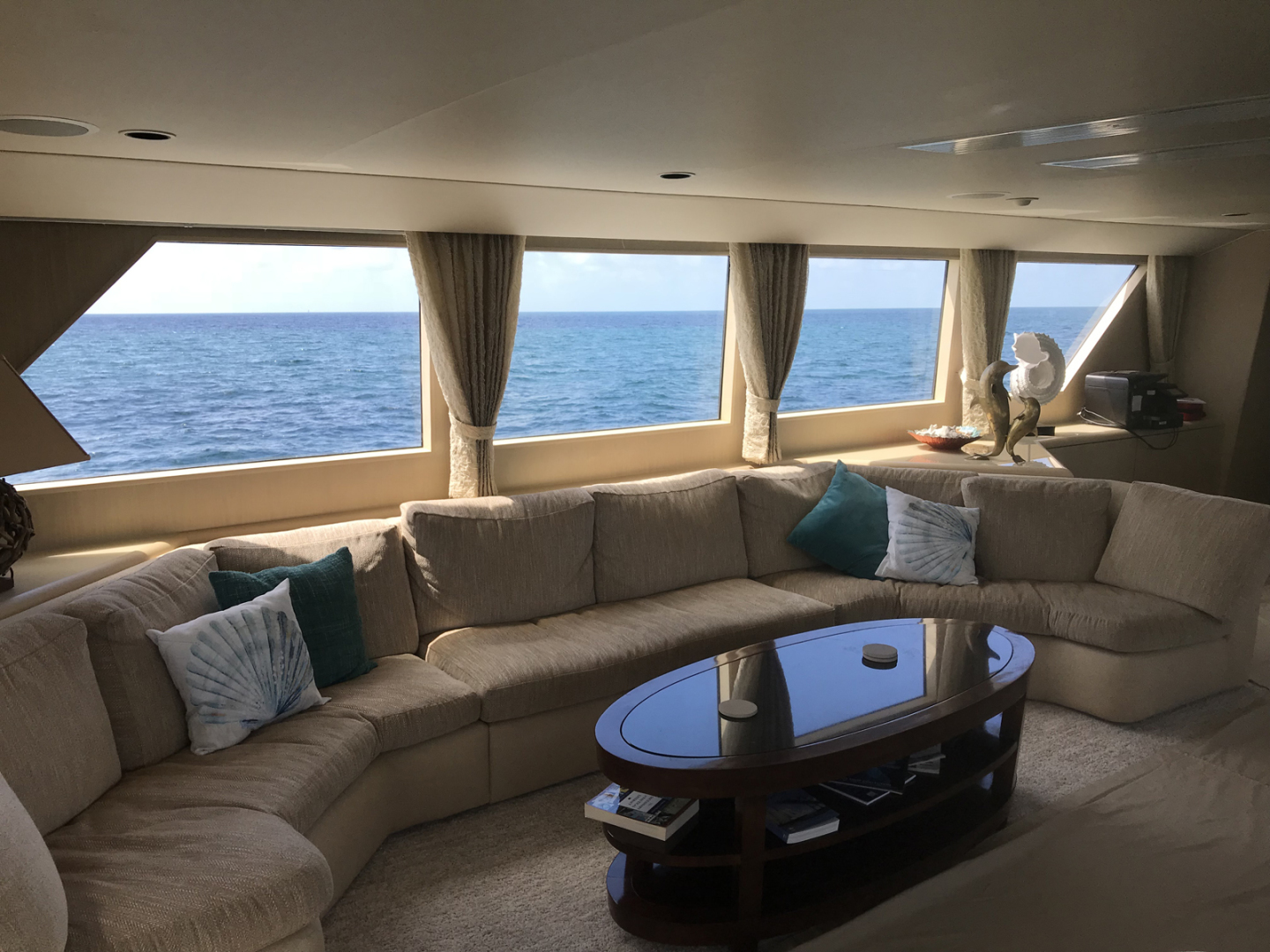 Broward-Custom Extended 1990-MON SHERI Fort Lauderdale-Florida-United States-Salon Couch to port-1515010   Thumbnail