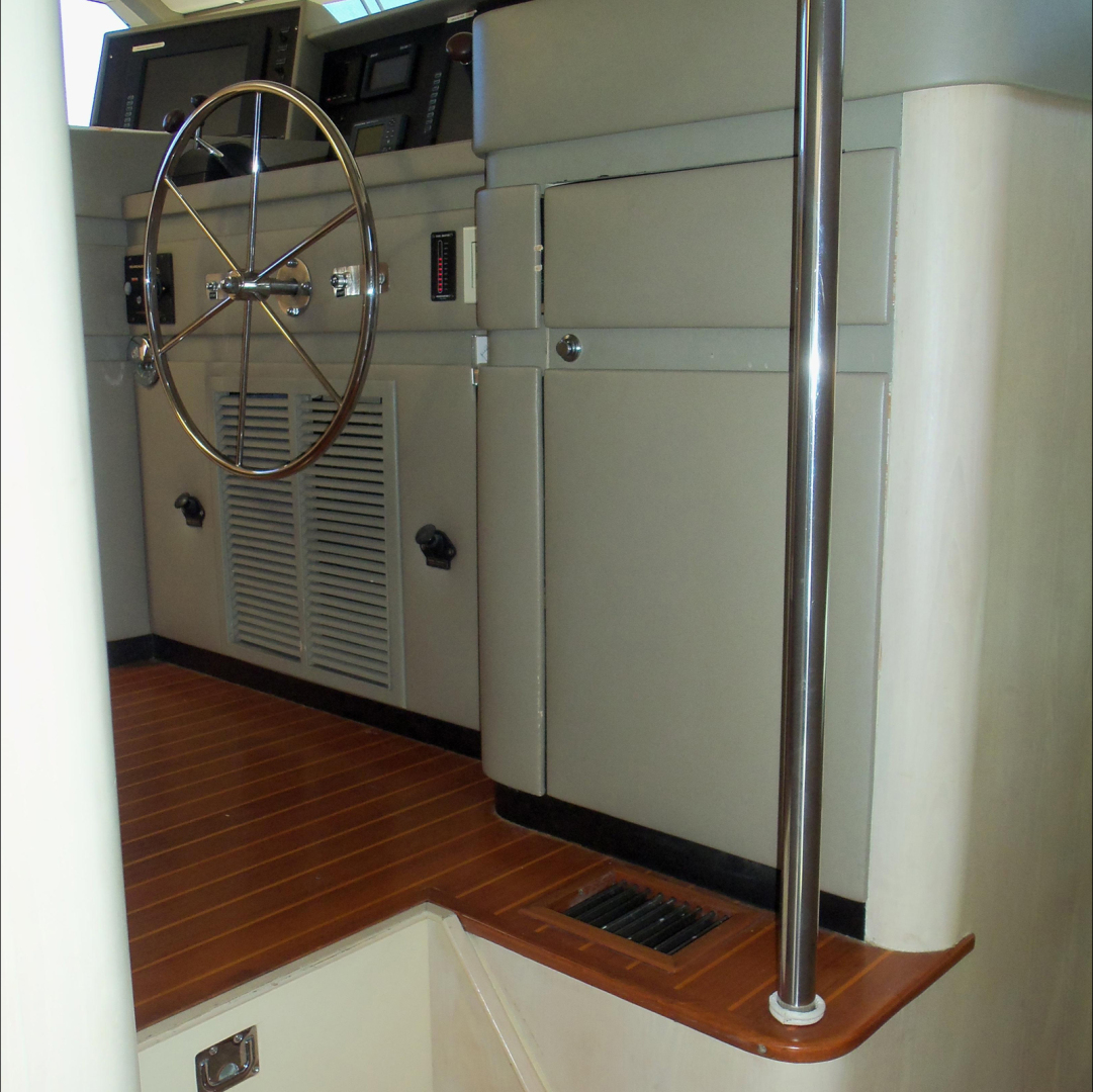 Broward-Custom Extended 1990-MON SHERI Fort Lauderdale-Florida-United States-Pilothouse entrance-1515030   Thumbnail