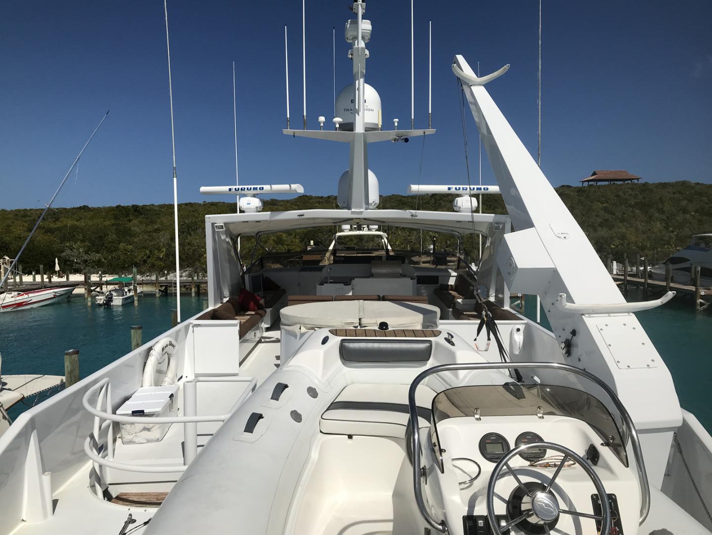 Broward-Custom Extended 1990-MON SHERI Fort Lauderdale-Florida-United States-Boat Deck Looking Forward-1515112   Thumbnail