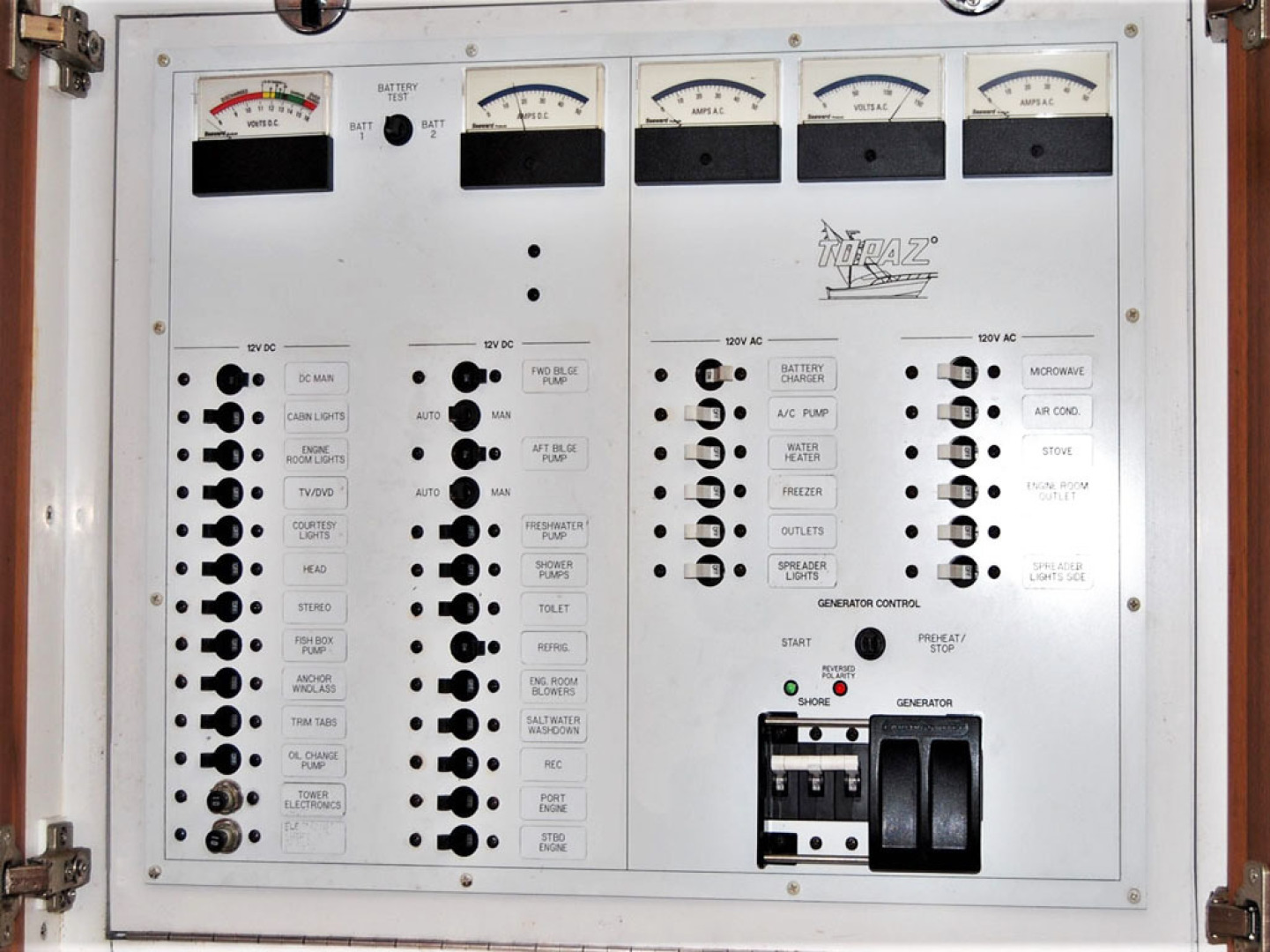 Topaz-32 Express 2004-Toots IV West Islip-New York-United States-Breaker Panel-1515163 | Thumbnail