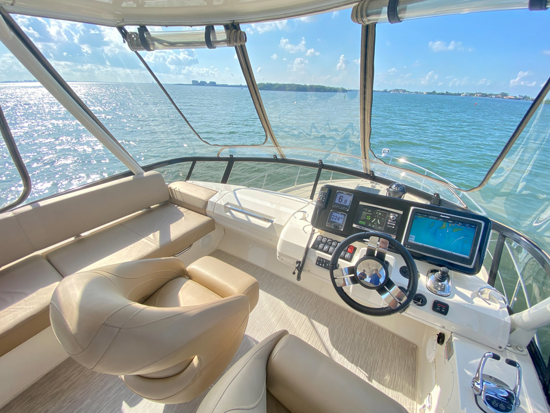 Carver-C40 2016-Ms. Behavin Longboat Key-Florida-United States-2016 40 Carver C Motor Yacht  Ms. Behavin  Flybridge Helm-1515637   Thumbnail