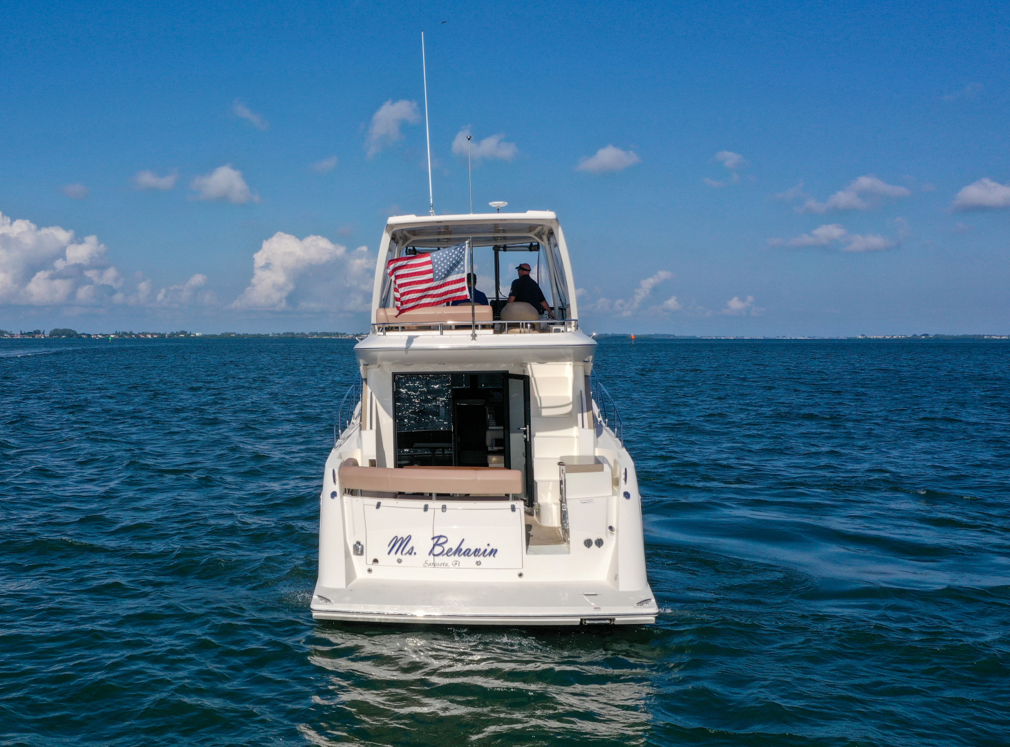 Carver-C40 2016-Ms. Behavin Longboat Key-Florida-United States-2016 40 Carver C Motor Yacht  Ms. Behavin  Profile-1515697   Thumbnail