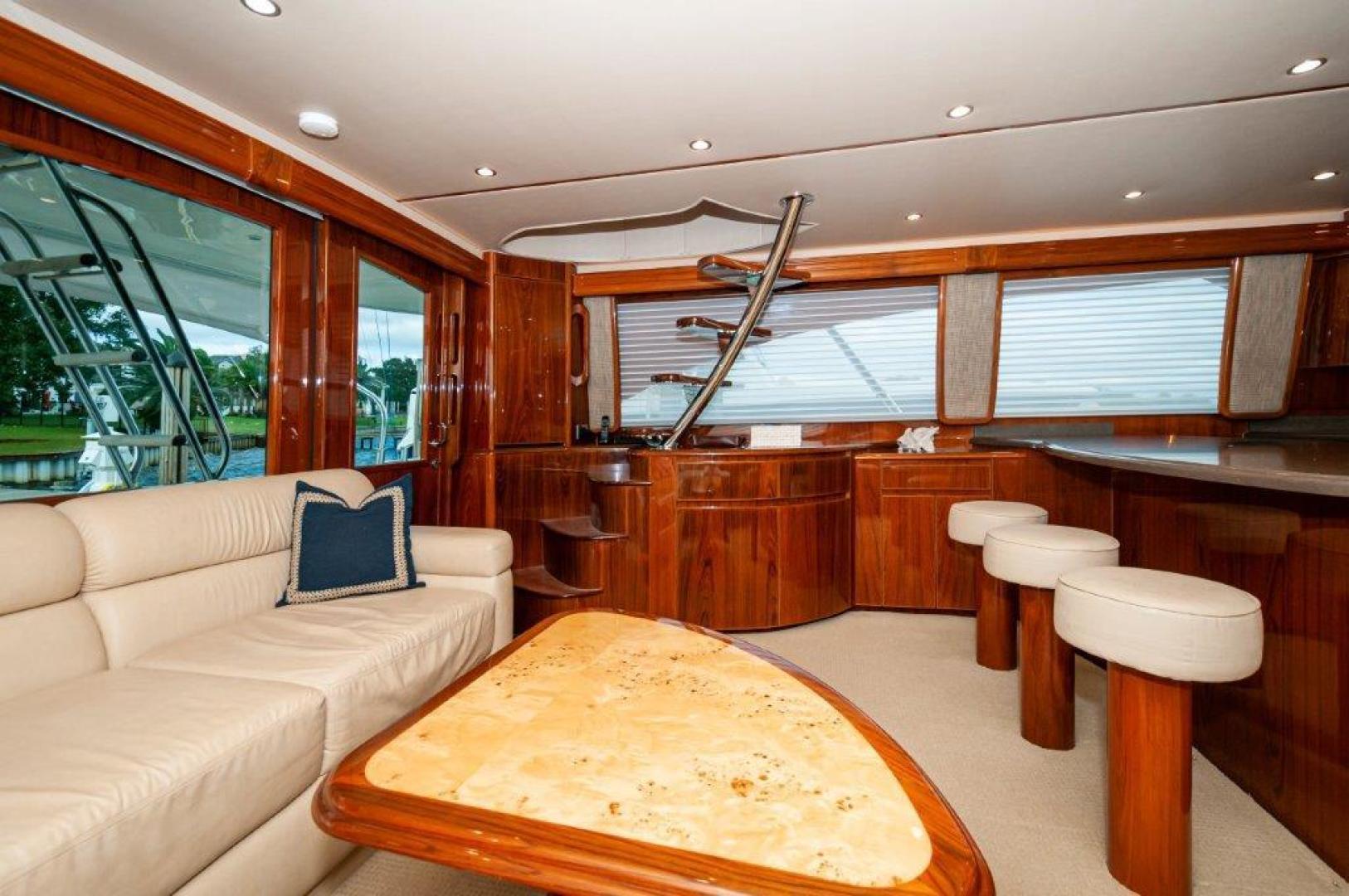 Viking-66 Enclosed Bridge 2014-Pour Intentions destin-Florida-United States-2014 66 Viking Salon (3)-1542173   Thumbnail