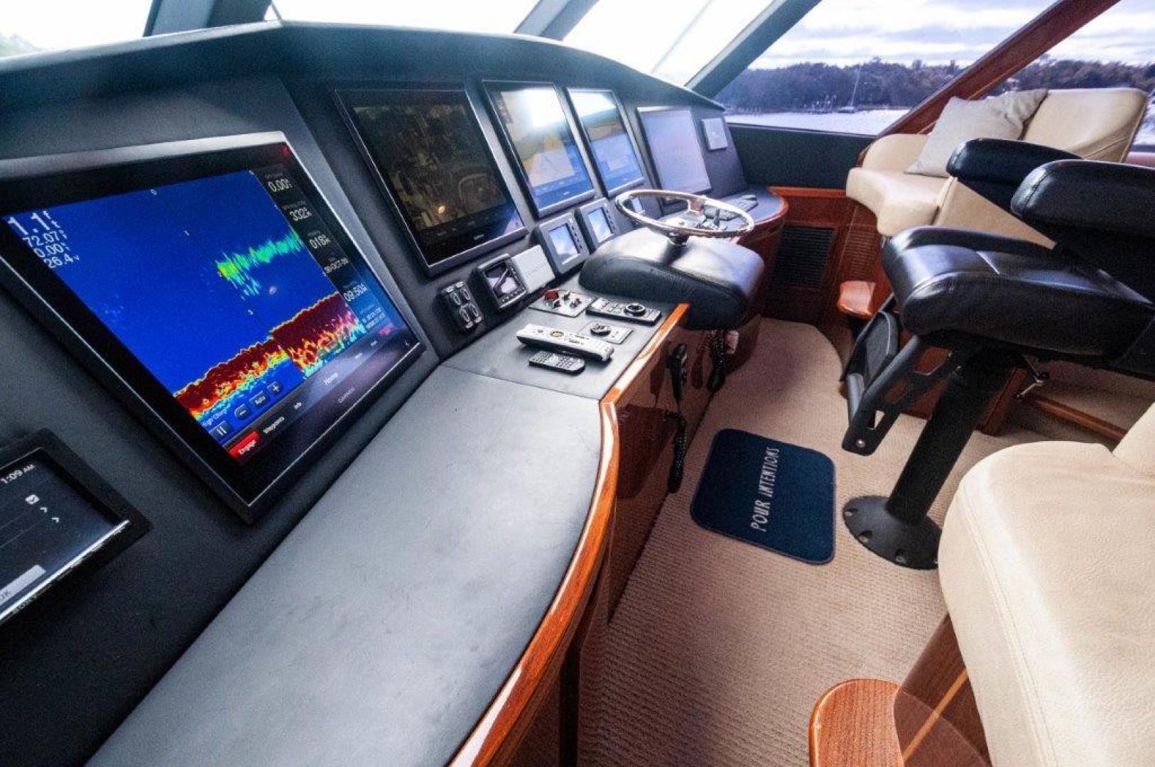 Viking-66 Enclosed Bridge 2014-Pour Intentions destin-Florida-United States-2014 66 Viking Helm (4)-1542222   Thumbnail