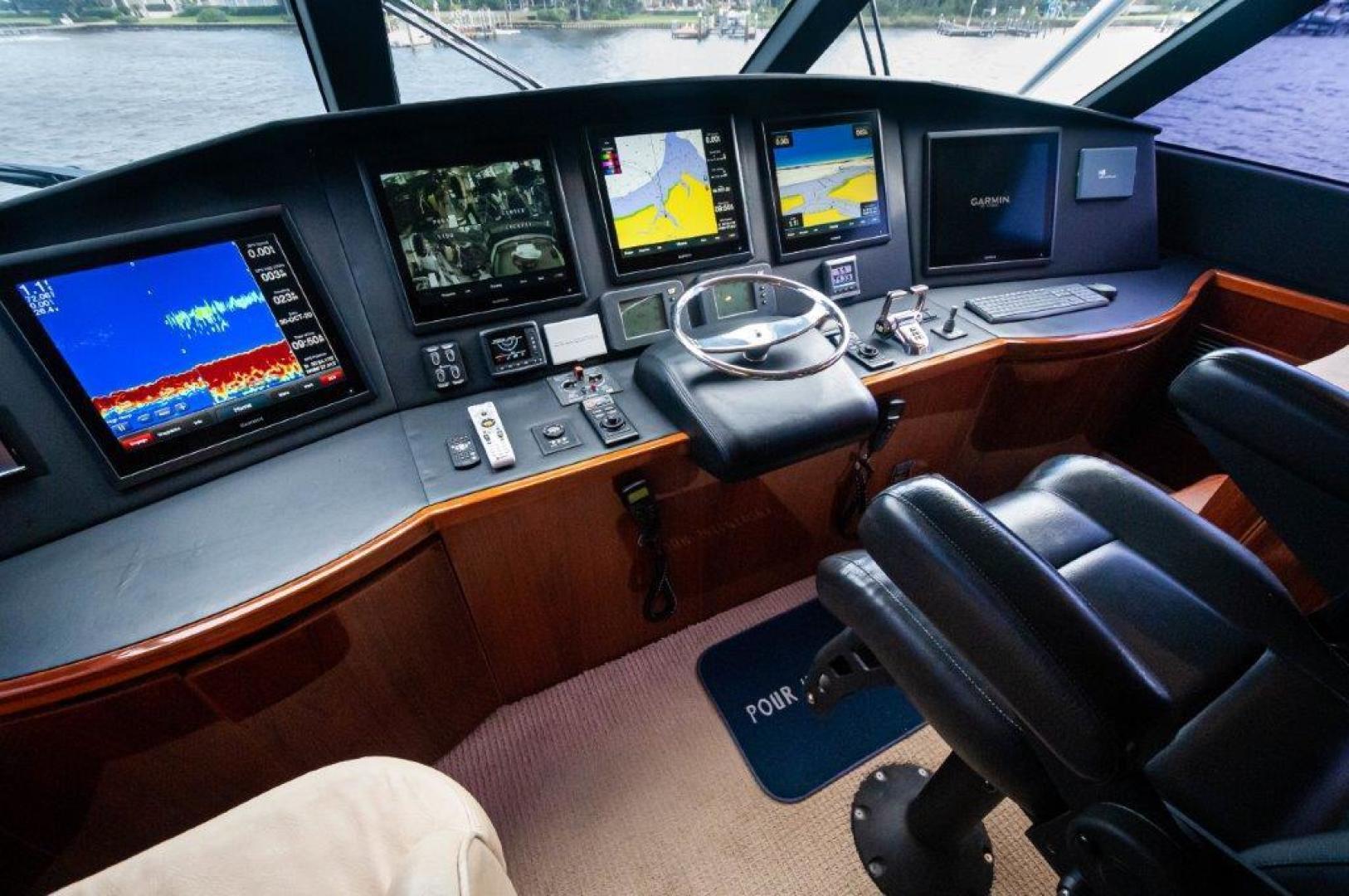 Viking-66 Enclosed Bridge 2014-Pour Intentions destin-Florida-United States-2014 66 Viking Helm -1542221   Thumbnail