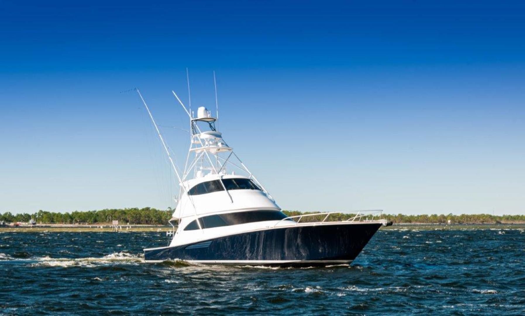 Viking-66 Enclosed Bridge 2014-Pour Intentions destin-Florida-United States-2014 66 Viking Stbd Bow-1542265   Thumbnail