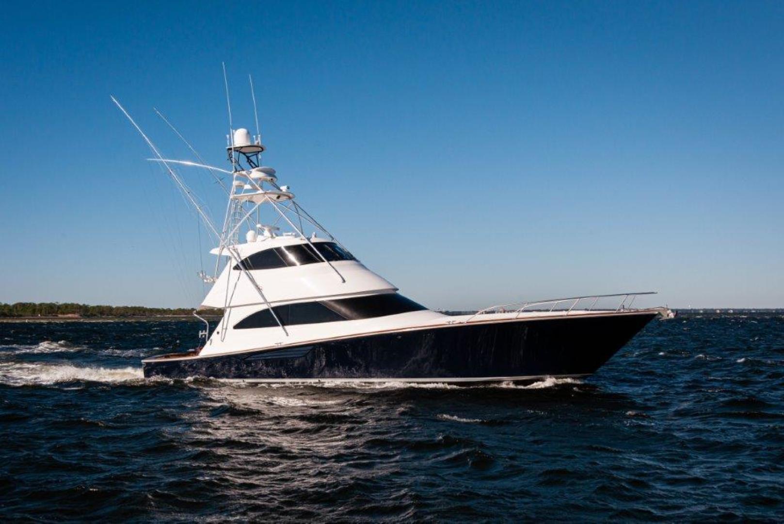 Viking-66 Enclosed Bridge 2014-Pour Intentions destin-Florida-United States-2014 66 Viking Stbd Profile-1542268   Thumbnail