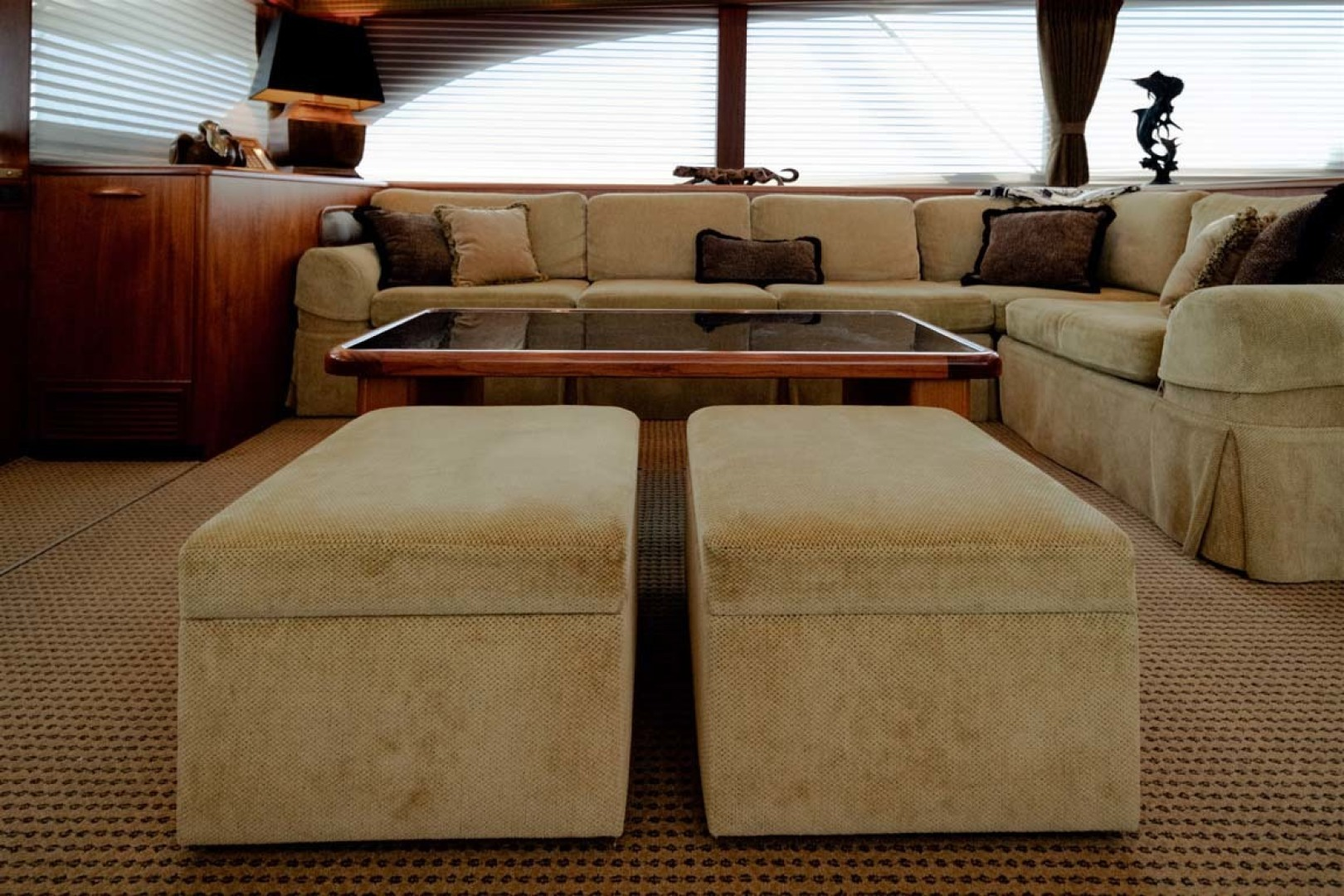 Jim Smith-Convertible 2006-Silky North Palm Beach-Florida-United States-Custom Coffee Table with (2) Stools Stored Below-1516989 | Thumbnail