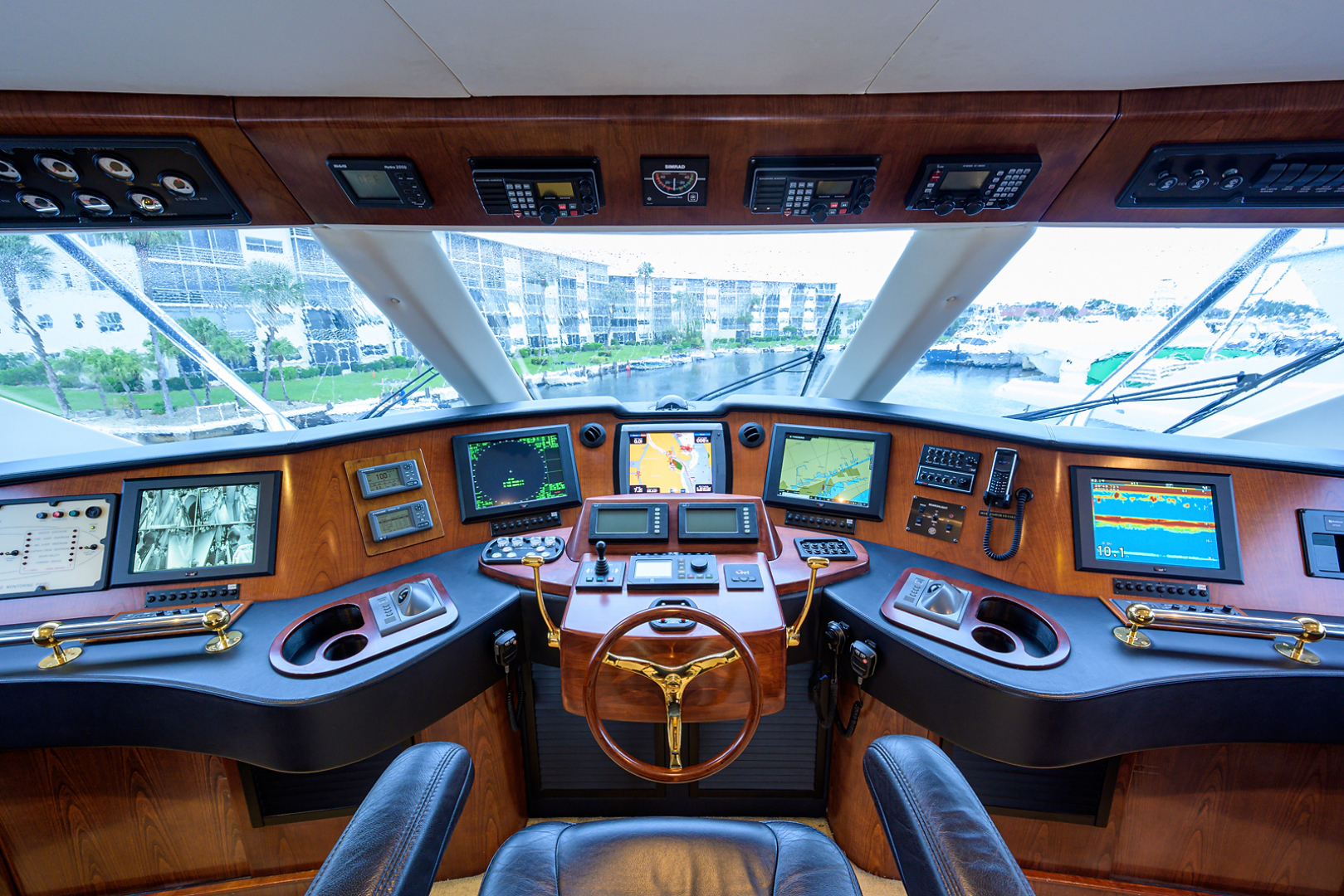 Sea Force IX-Enclosed Bridge Convertible 2007-Black Shadow North Palm Beach-Florida-United States-Enclosed Flybridge-1517393 | Thumbnail
