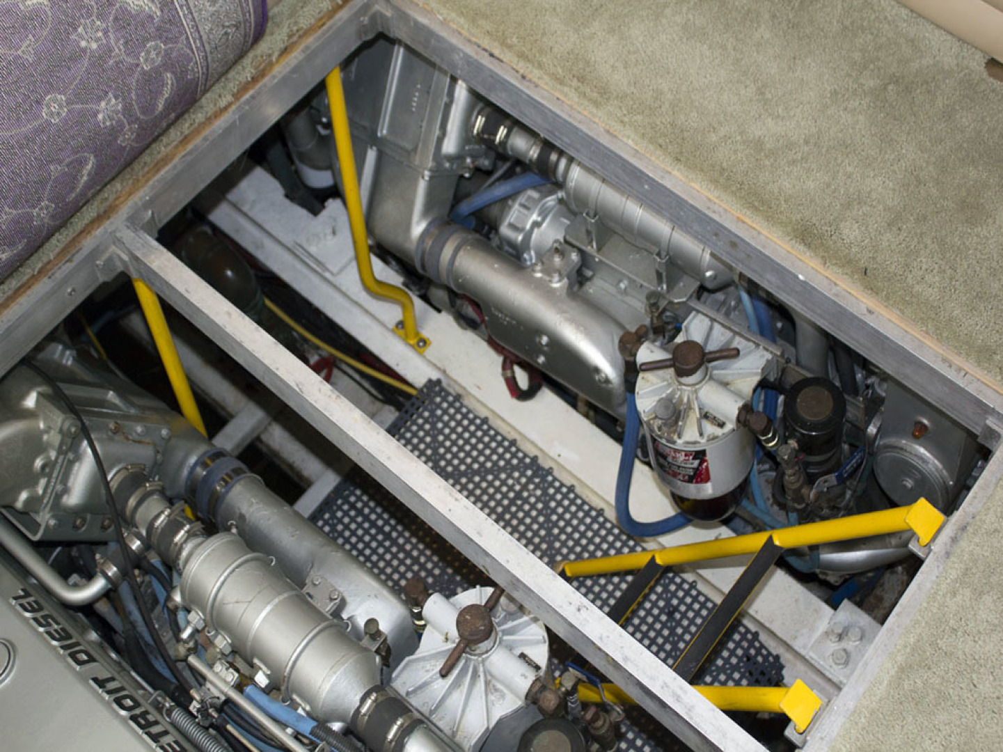 Viking-44 Double Cabin 1990-Never Mind Cape Coral-Florida-United States-Clean Engine Room-1518234   Thumbnail