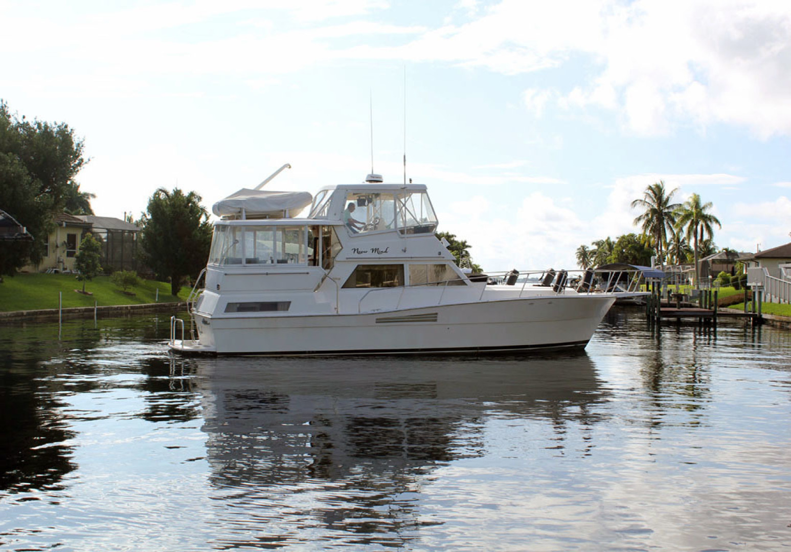 Viking-44 Double Cabin 1990-Never Mind Cape Coral-Florida-United States-Starboard Profile-1518239   Thumbnail