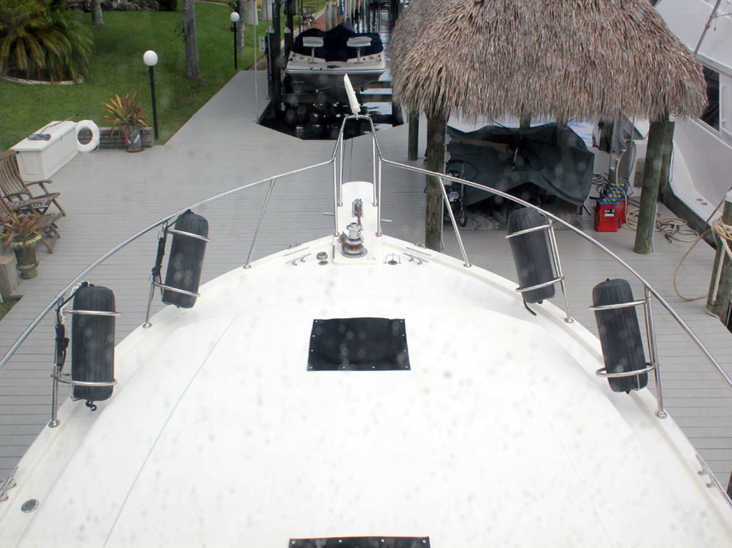 Viking-44 Double Cabin 1990-Never Mind Cape Coral-Florida-United States-Foredeck-1518223   Thumbnail
