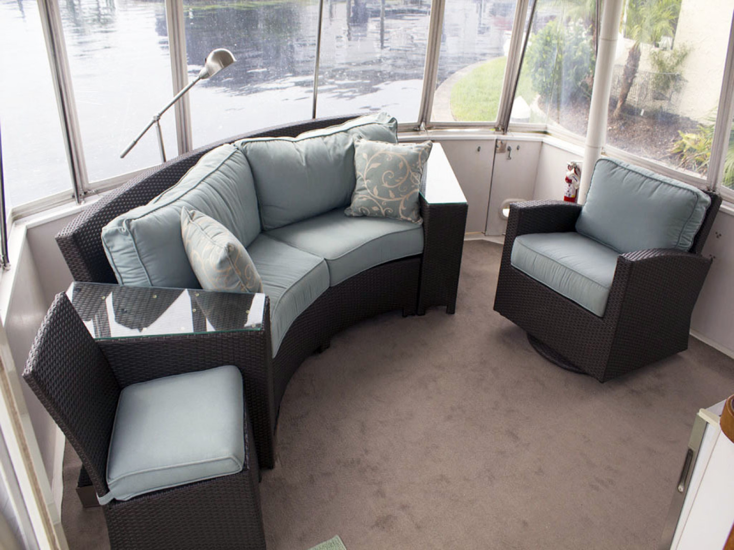 Viking-44 Double Cabin 1990-Never Mind Cape Coral-Florida-United States-Aft Deck Furniture-1518230   Thumbnail
