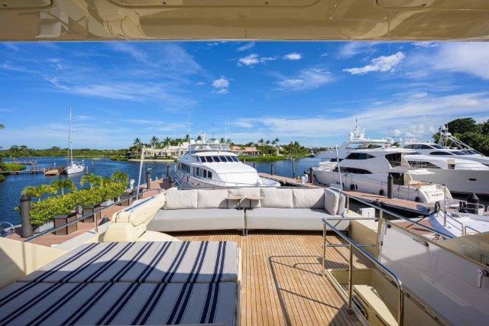 Ferretti Yachts-Altura 840 2010-MISS ALLIED Jupiter-Florida-United States-Bridge Deck-1518344 | Thumbnail