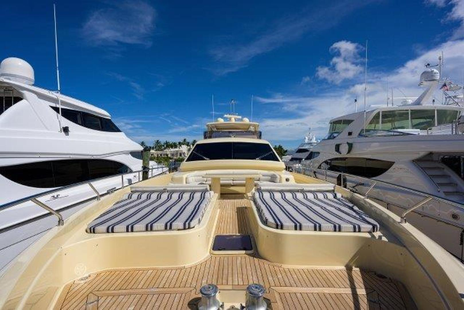 Ferretti Yachts-Altura 840 2010-MISS ALLIED Jupiter-Florida-United States-Bow -1518363 | Thumbnail