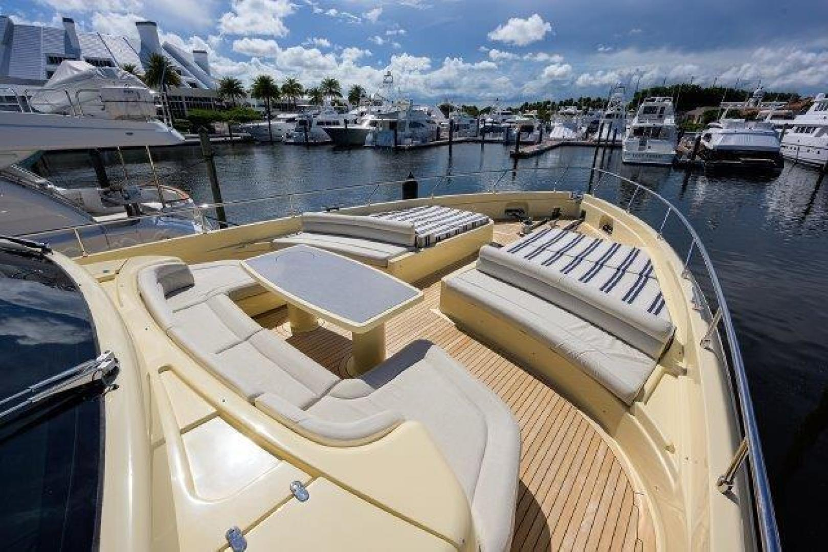 Ferretti Yachts-Altura 840 2010-MISS ALLIED Jupiter-Florida-United States-Bow -1518364 | Thumbnail