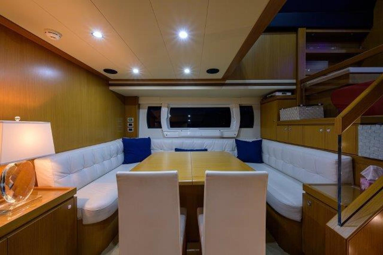 Ferretti Yachts-Altura 840 2010-MISS ALLIED Jupiter-Florida-United States-Dining-1518284 | Thumbnail