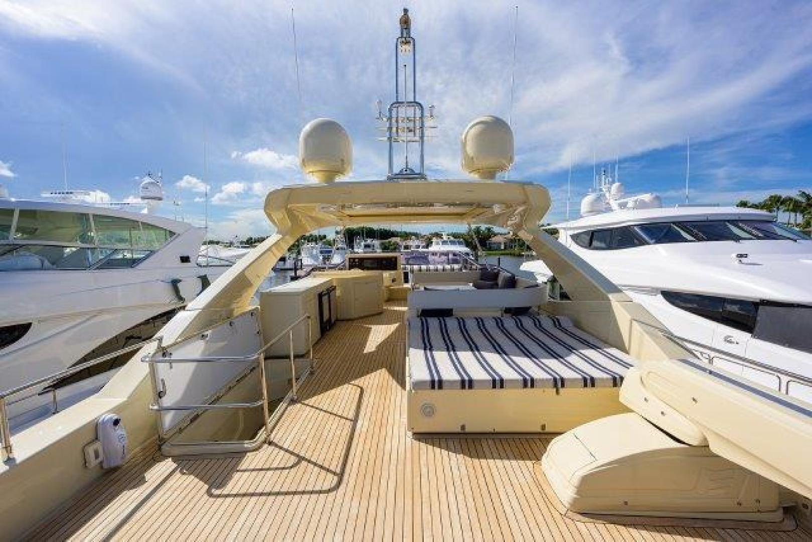 Ferretti Yachts-Altura 840 2010-MISS ALLIED Jupiter-Florida-United States-Bridge Deck-1518343 | Thumbnail