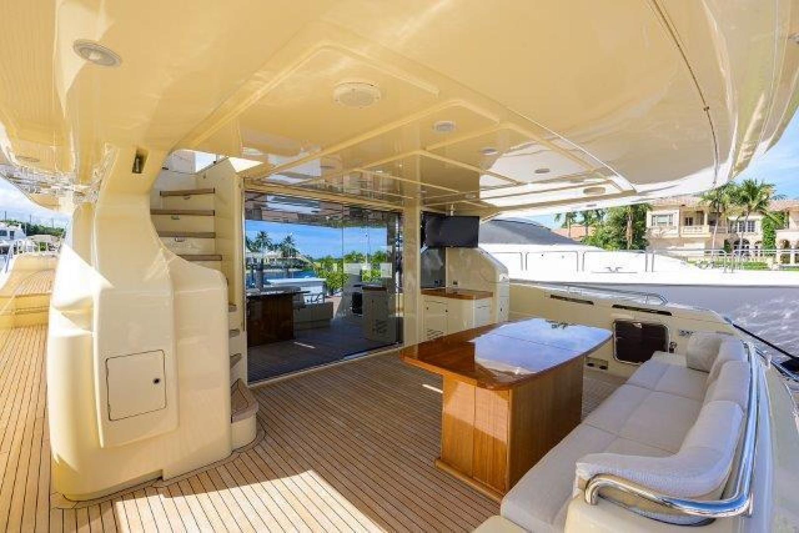 Ferretti Yachts-Altura 840 2010-MISS ALLIED Jupiter-Florida-United States-Aft Deck-1518356 | Thumbnail